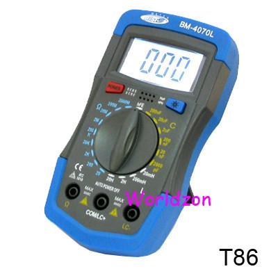 Capacimetro economico T861