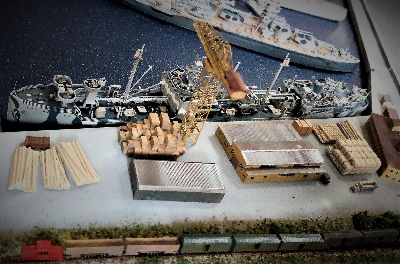 Diorama base navale 1/700 par Nesquik - Page 4 2tF3Bs