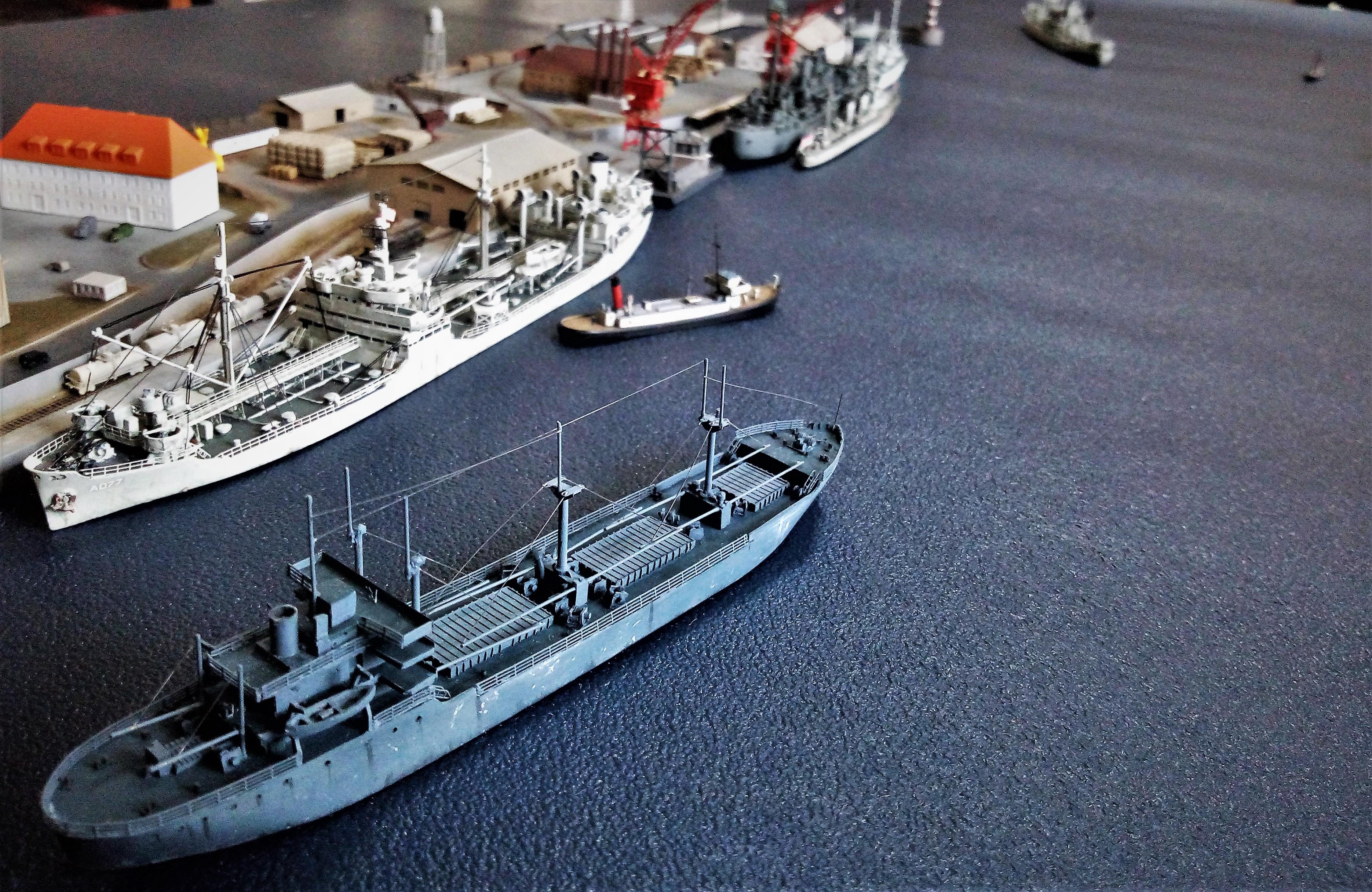 Diorama base navale 1/700 par Nesquik - Page 4 FtBze7Lq