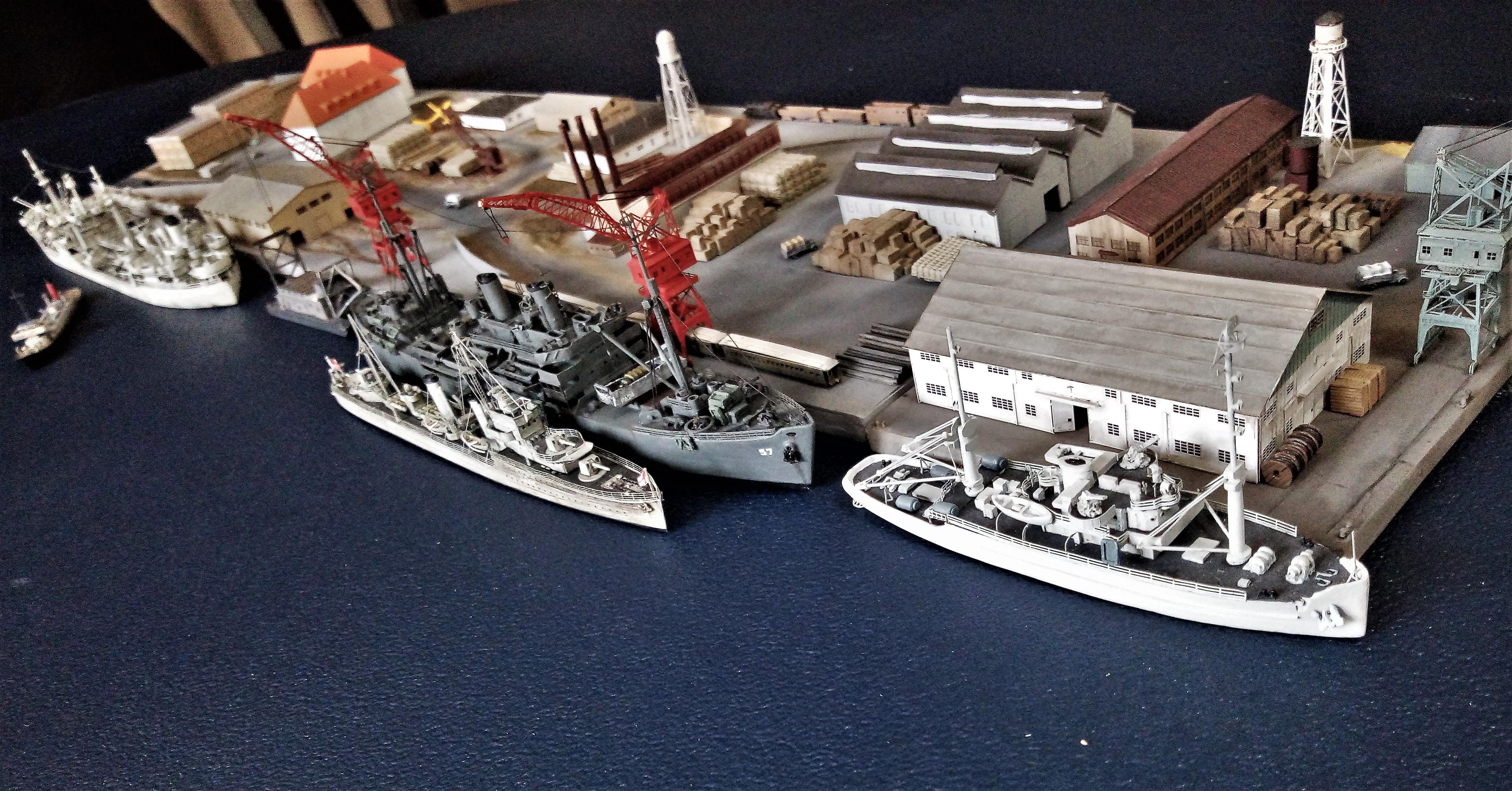 Diorama base navale 1/700 par Nesquik - Page 4 Cw49