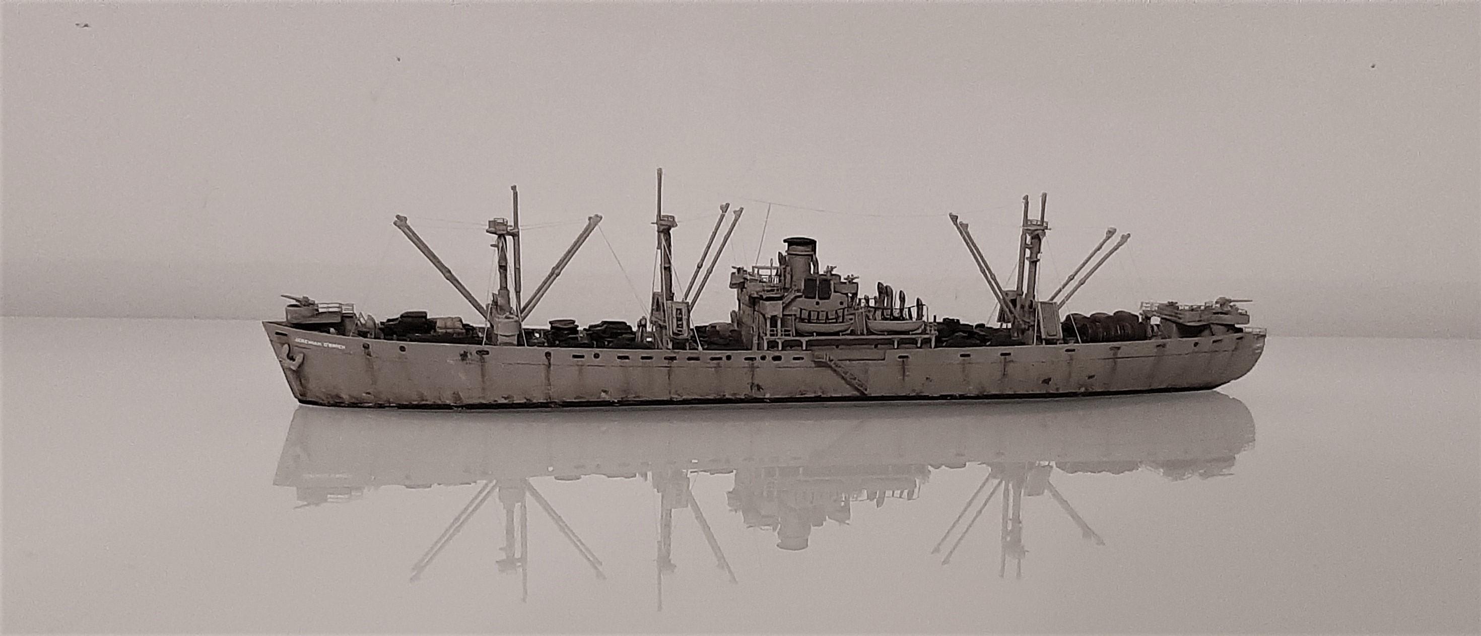 Liberty ship Jeremiah O'Brien 1/700 Trumpeter  2VFnia
