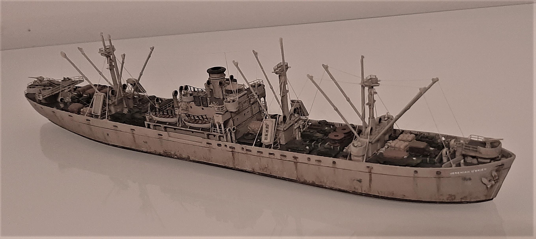 Liberty ship Jeremiah O'Brien 1/700 Trumpeter  U7YFb0