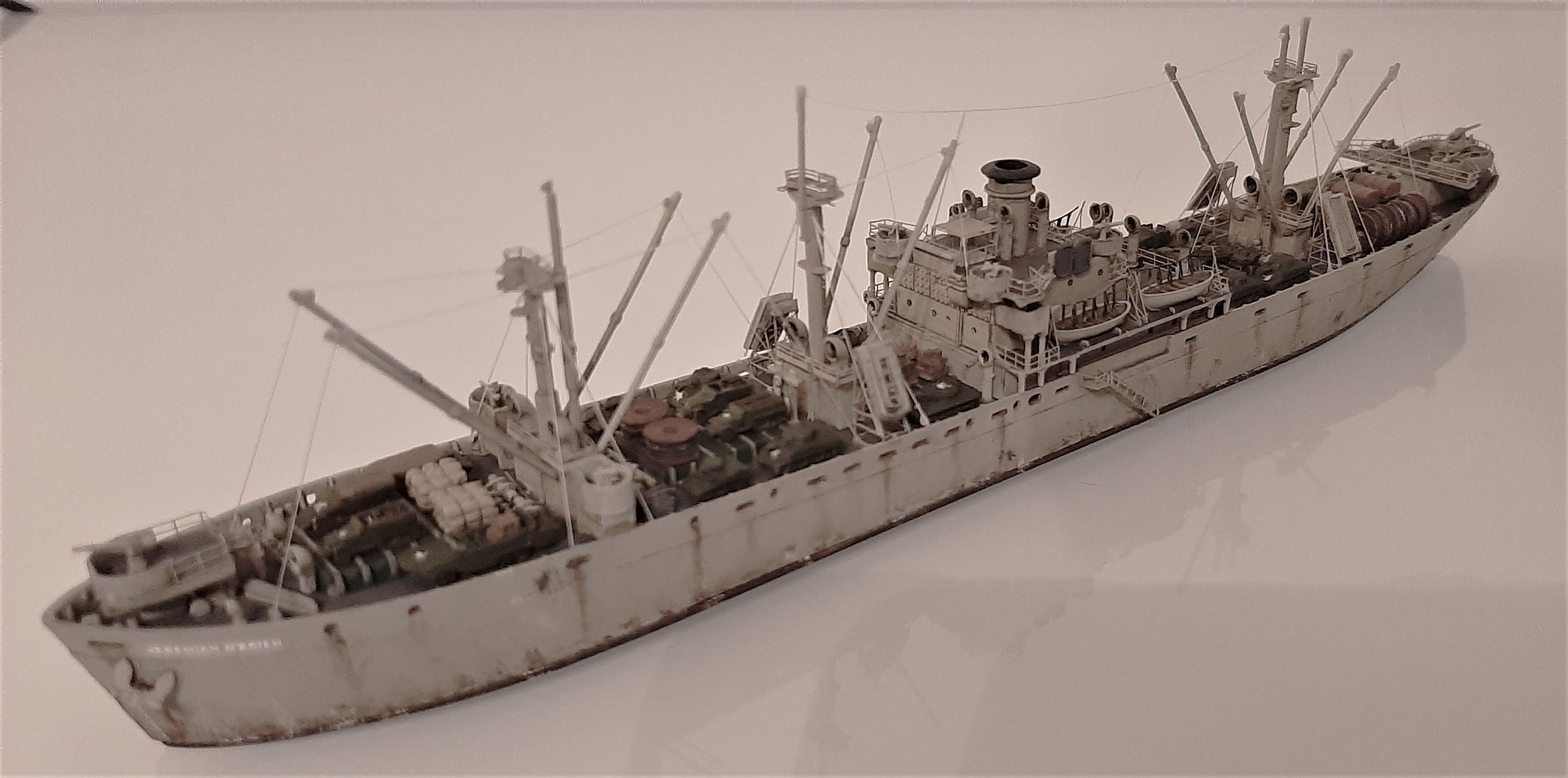 Liberty ship Jeremiah O'Brien 1/700 Trumpeter  AtTnoF