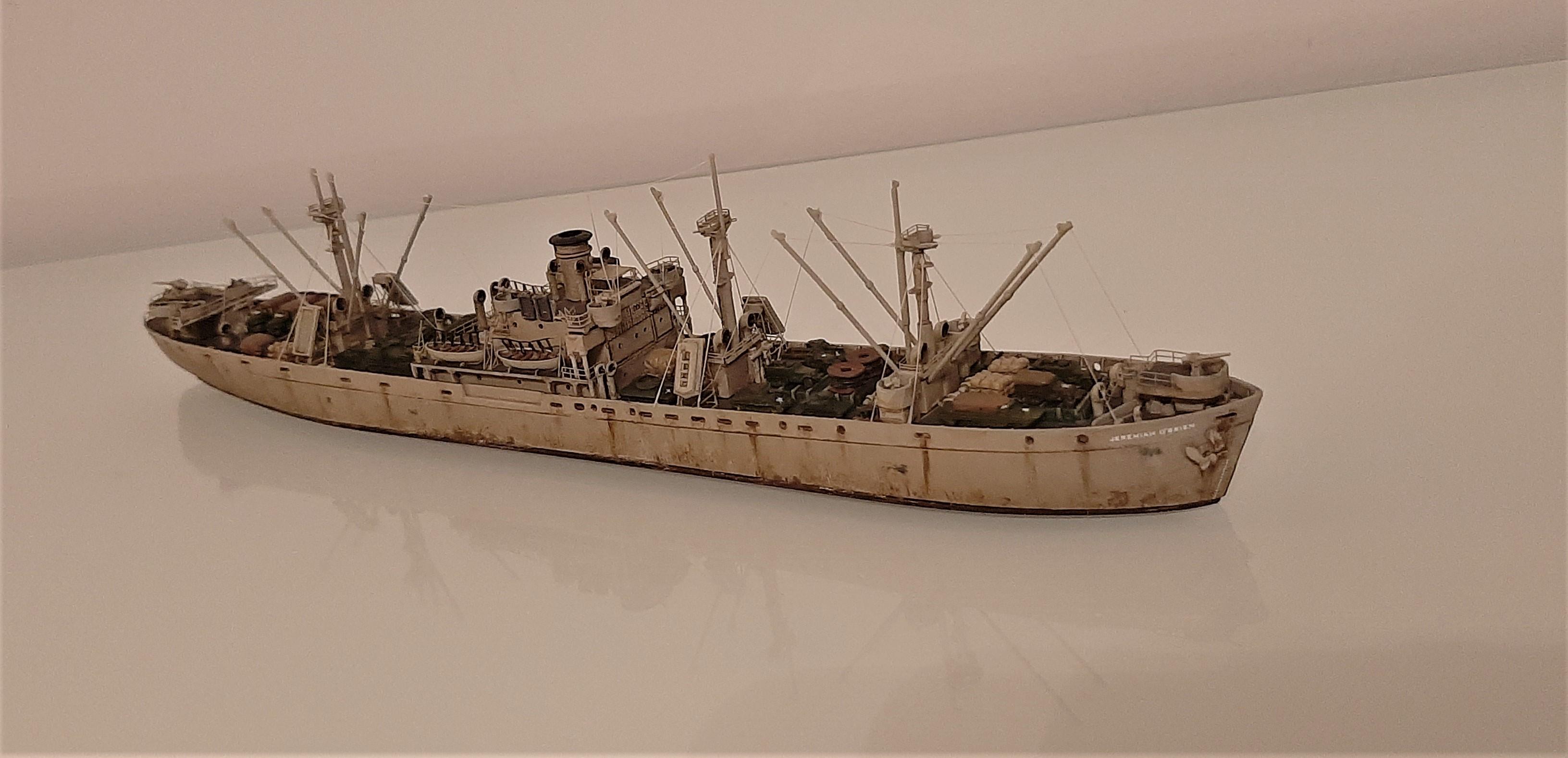 Liberty ship Jeremiah O'Brien 1/700 Trumpeter  Y3gzUT