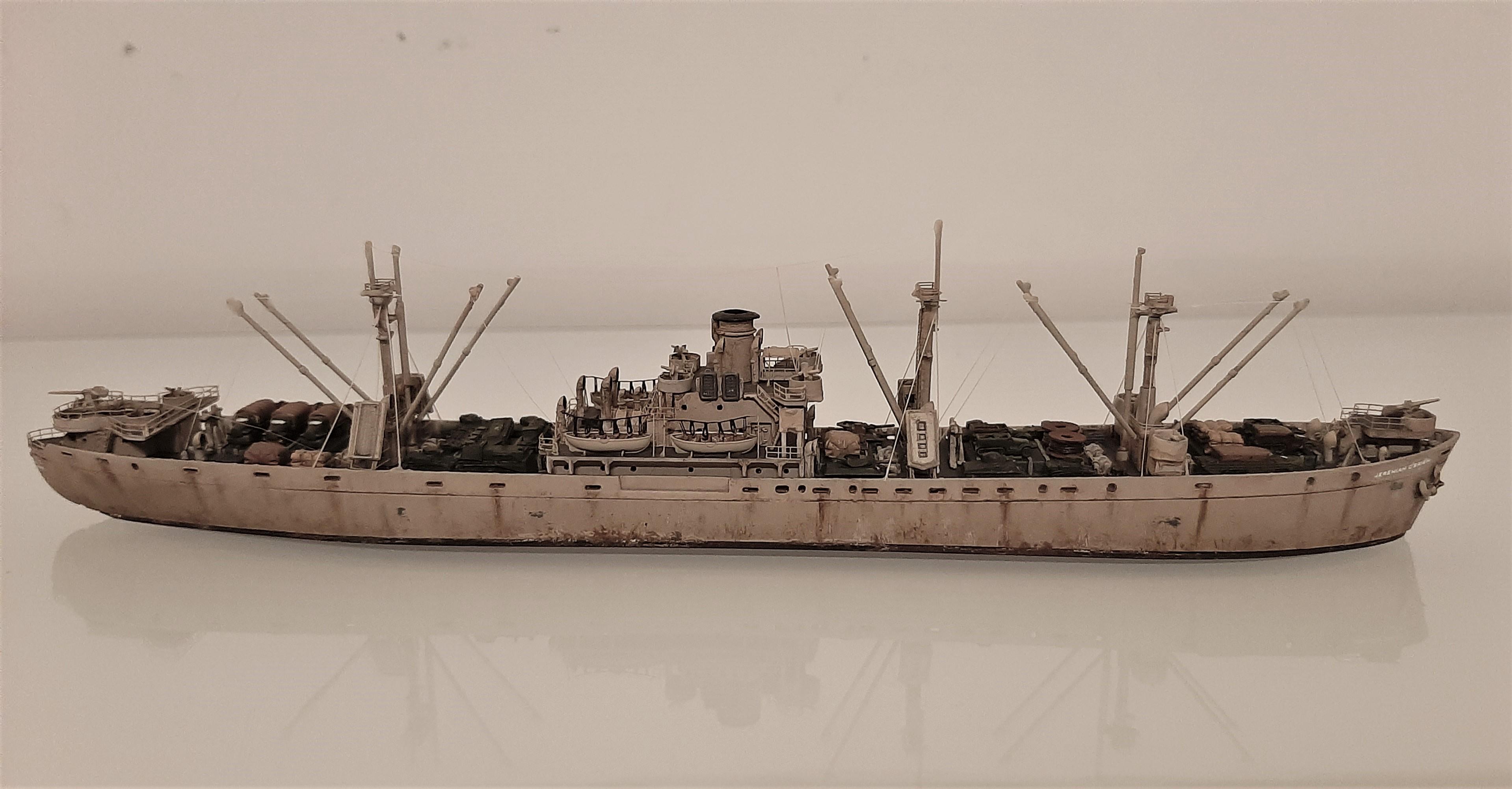 Liberty ship Jeremiah O'Brien 1/700 Trumpeter  ZJoYx5