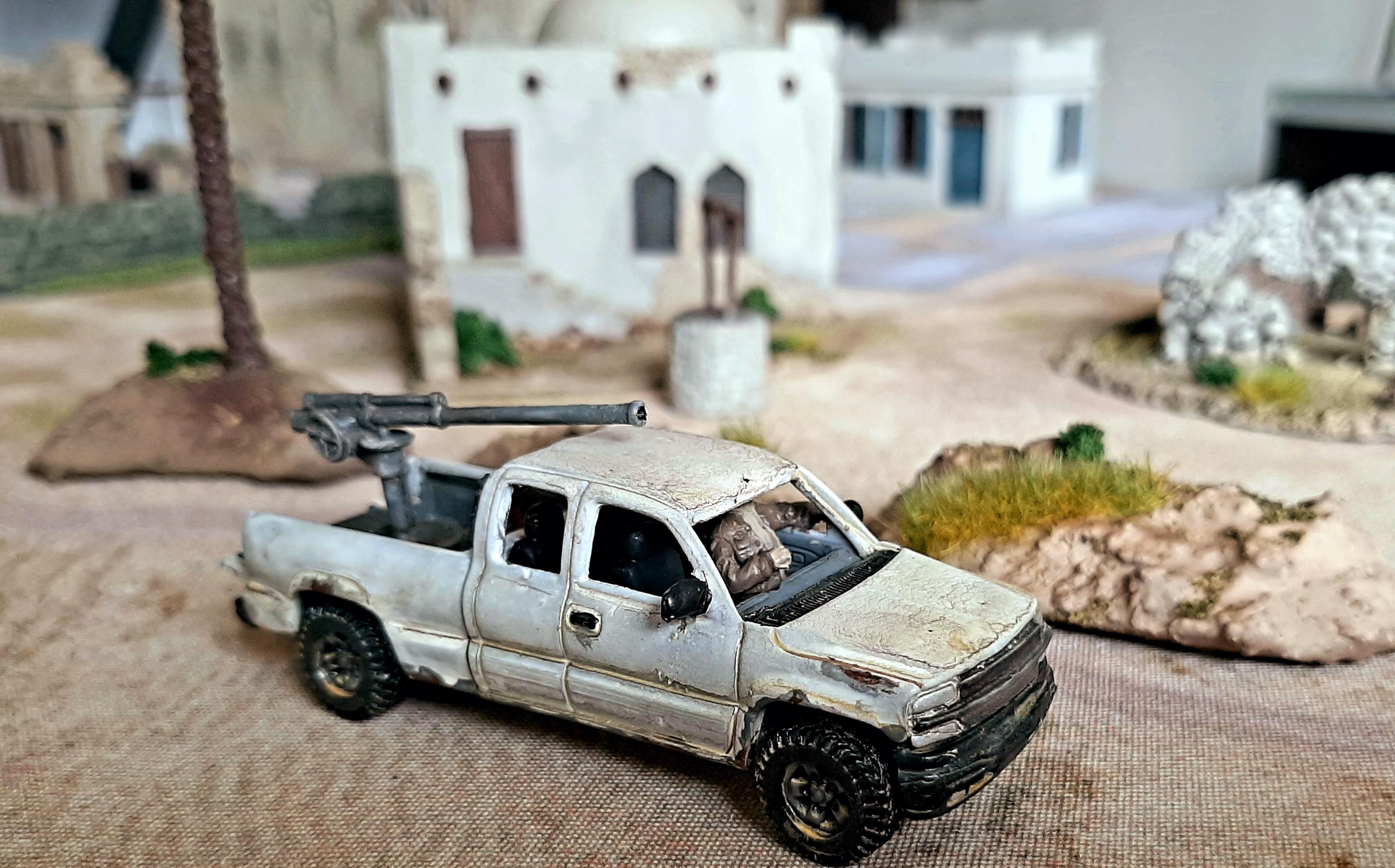 Diorama/Wargame Afghanistan 1/72 3CAZ6