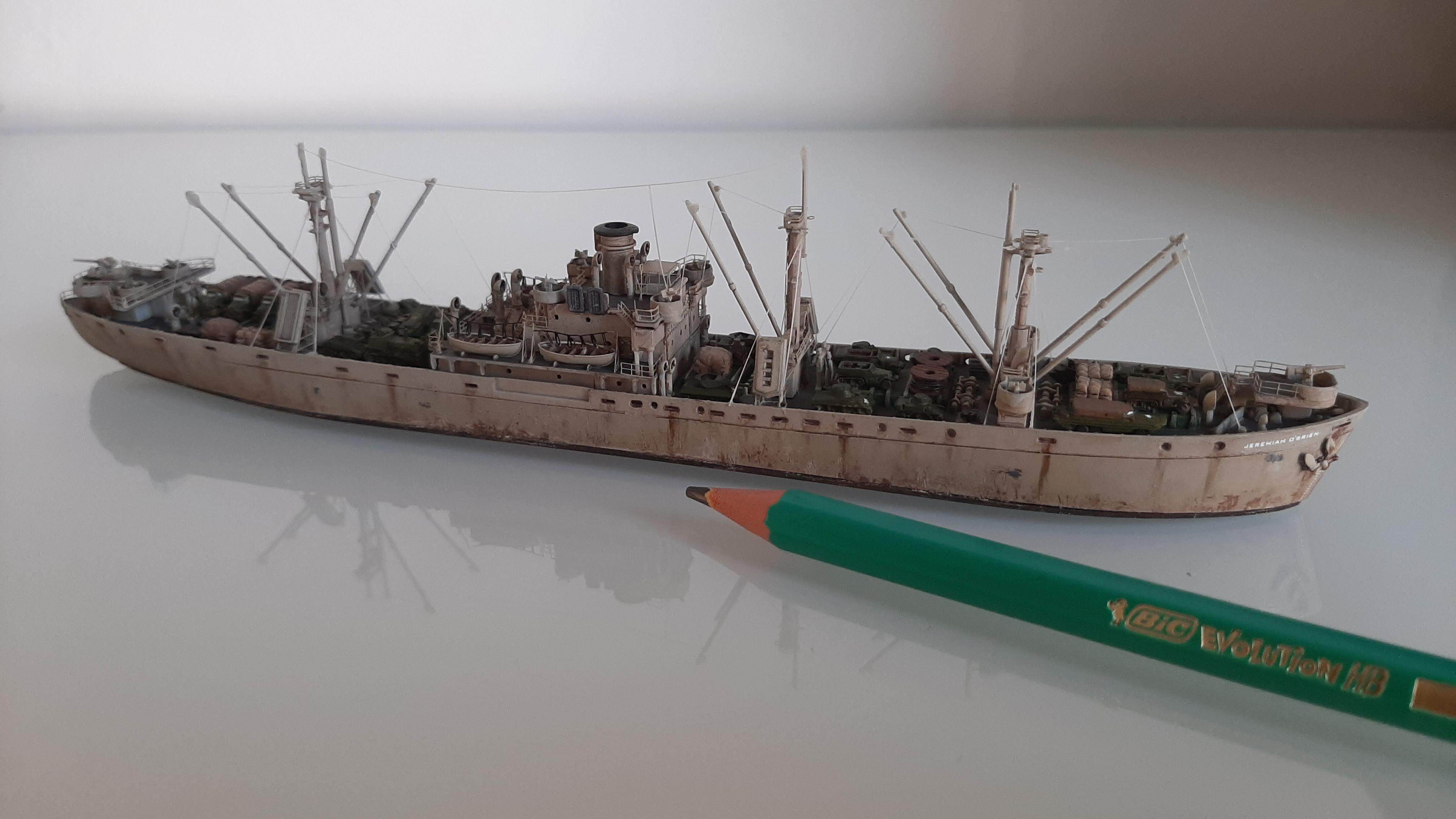 Liberty ship Jeremiah O'Brien 1/700 Trumpeter  4UTdCA9tz