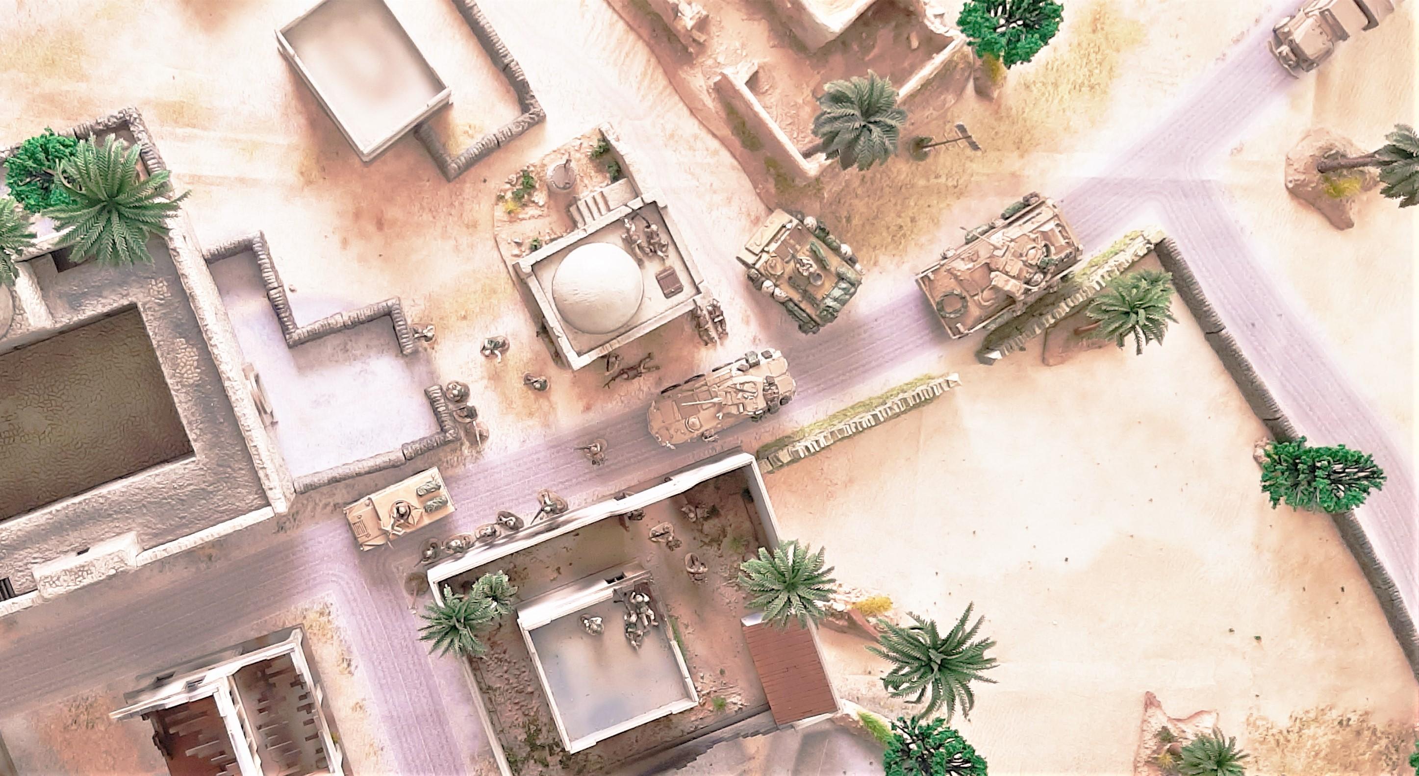 Diorama/Wargame Afghanistan 1/72 GBoyv2