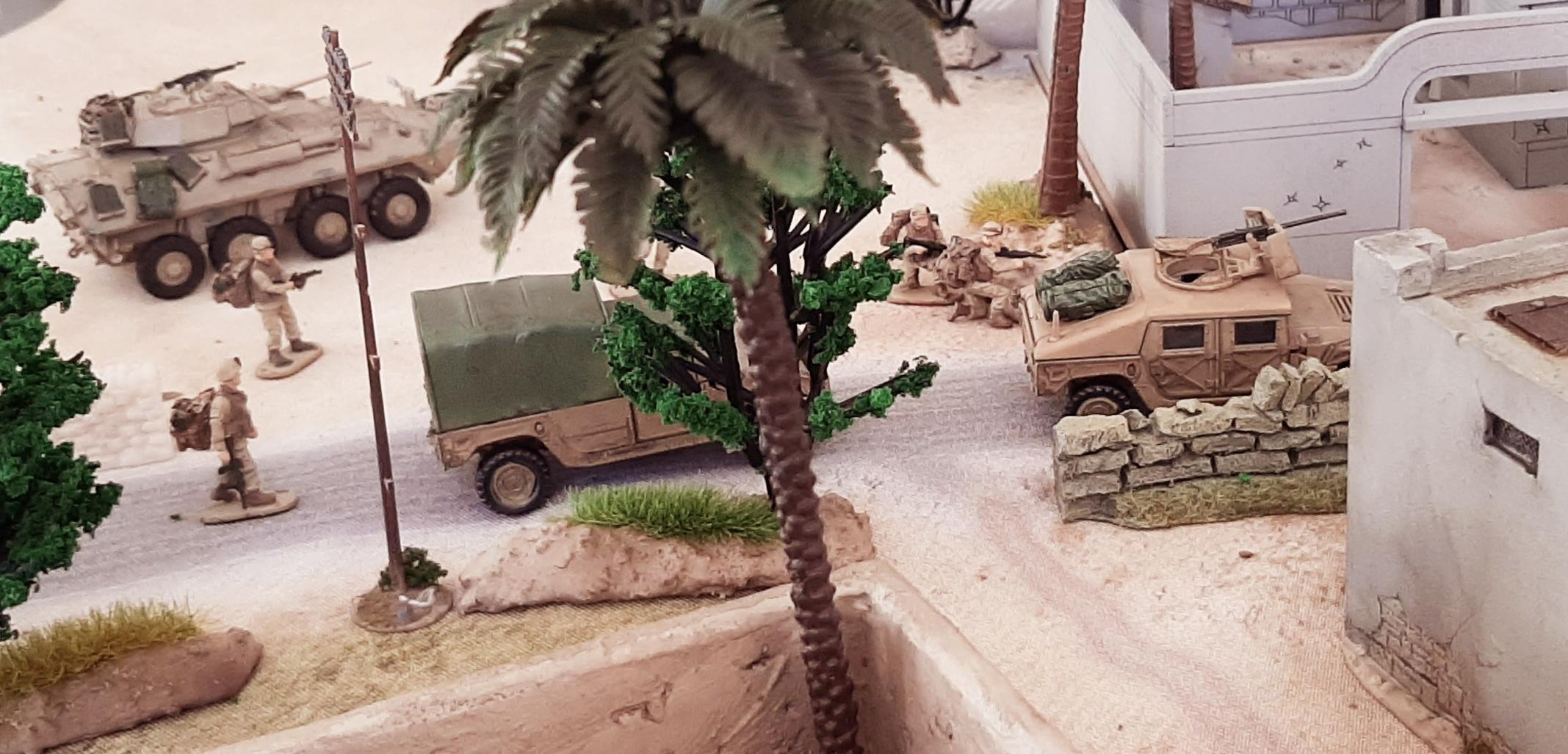 Diorama/Wargame Afghanistan 1/72 HLJs5