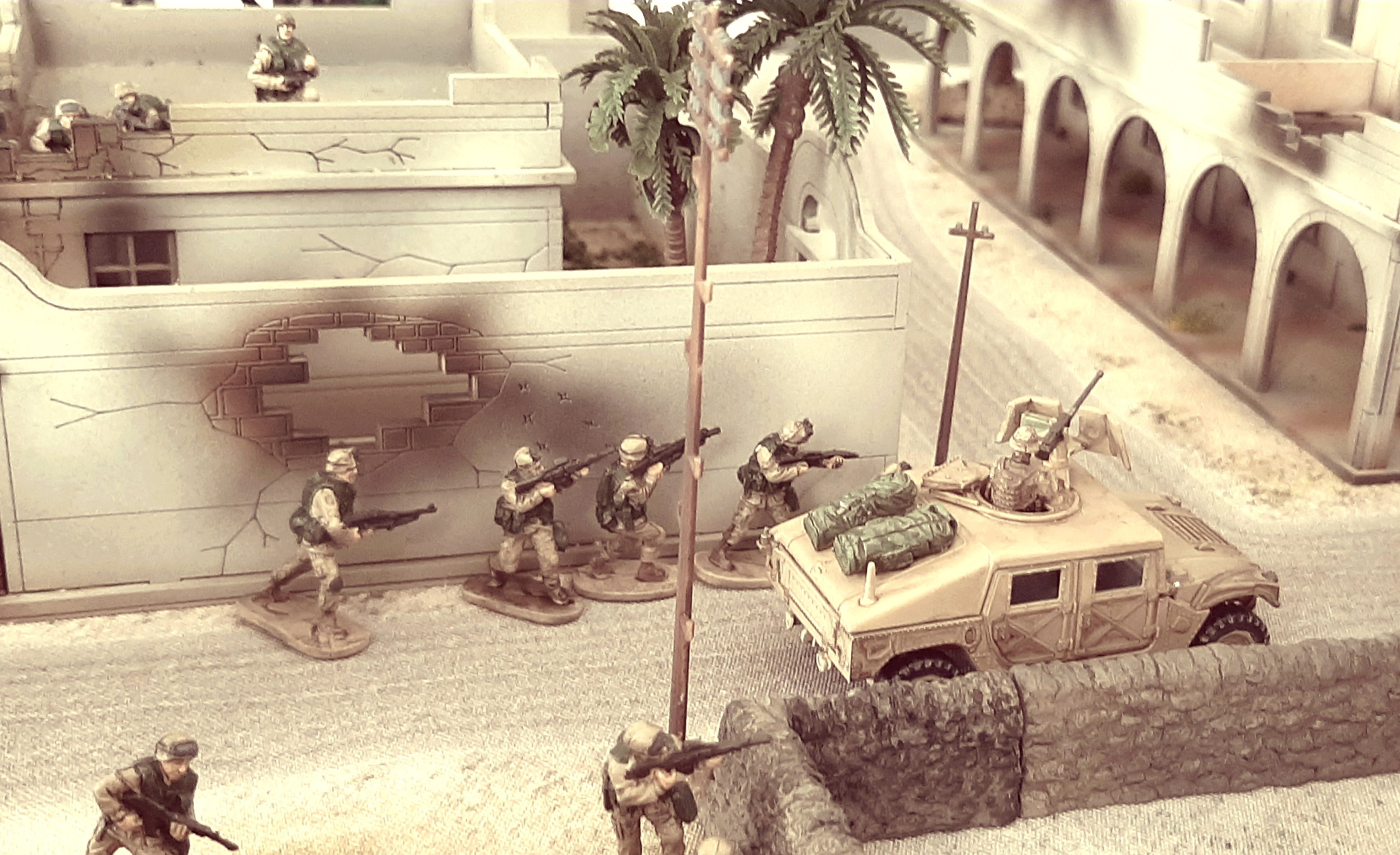 Diorama/Wargame Afghanistan 1/72 OQZNx