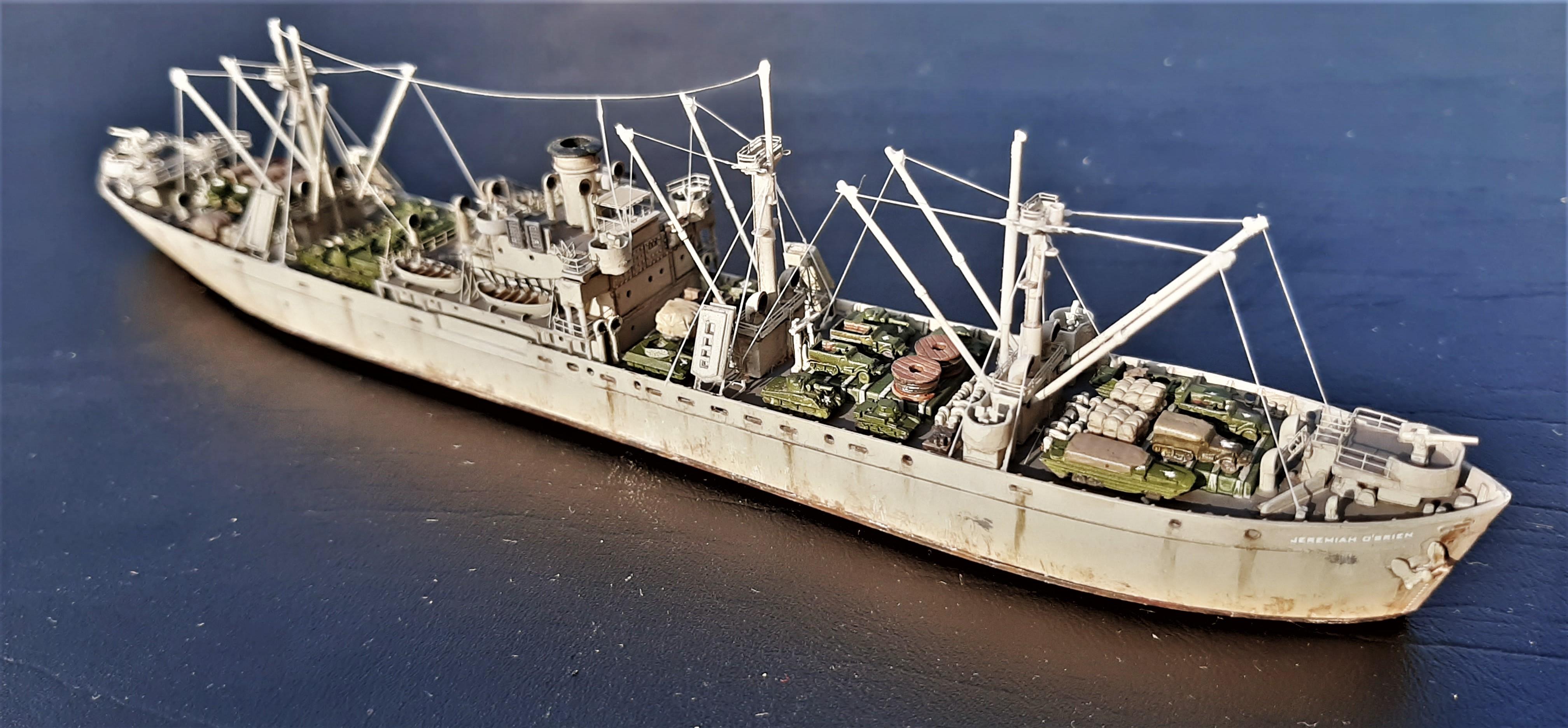 Liberty ship Jeremiah O'Brien 1/700 Trumpeter  Q9Xq2L