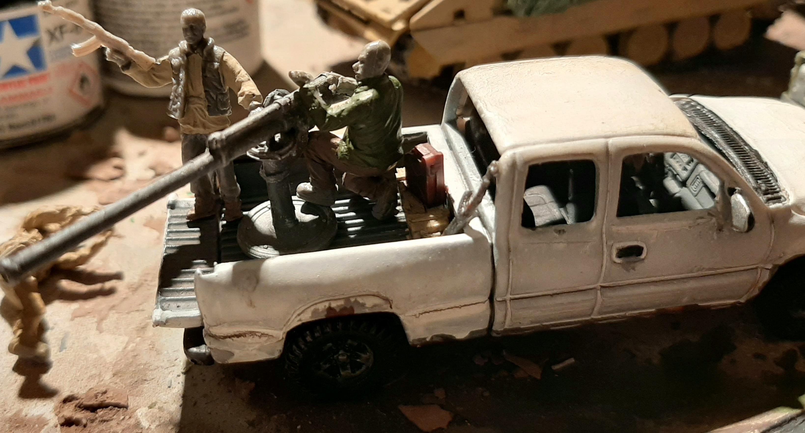 Diorama/Wargame Afghanistan 1/72 RP31oNAE