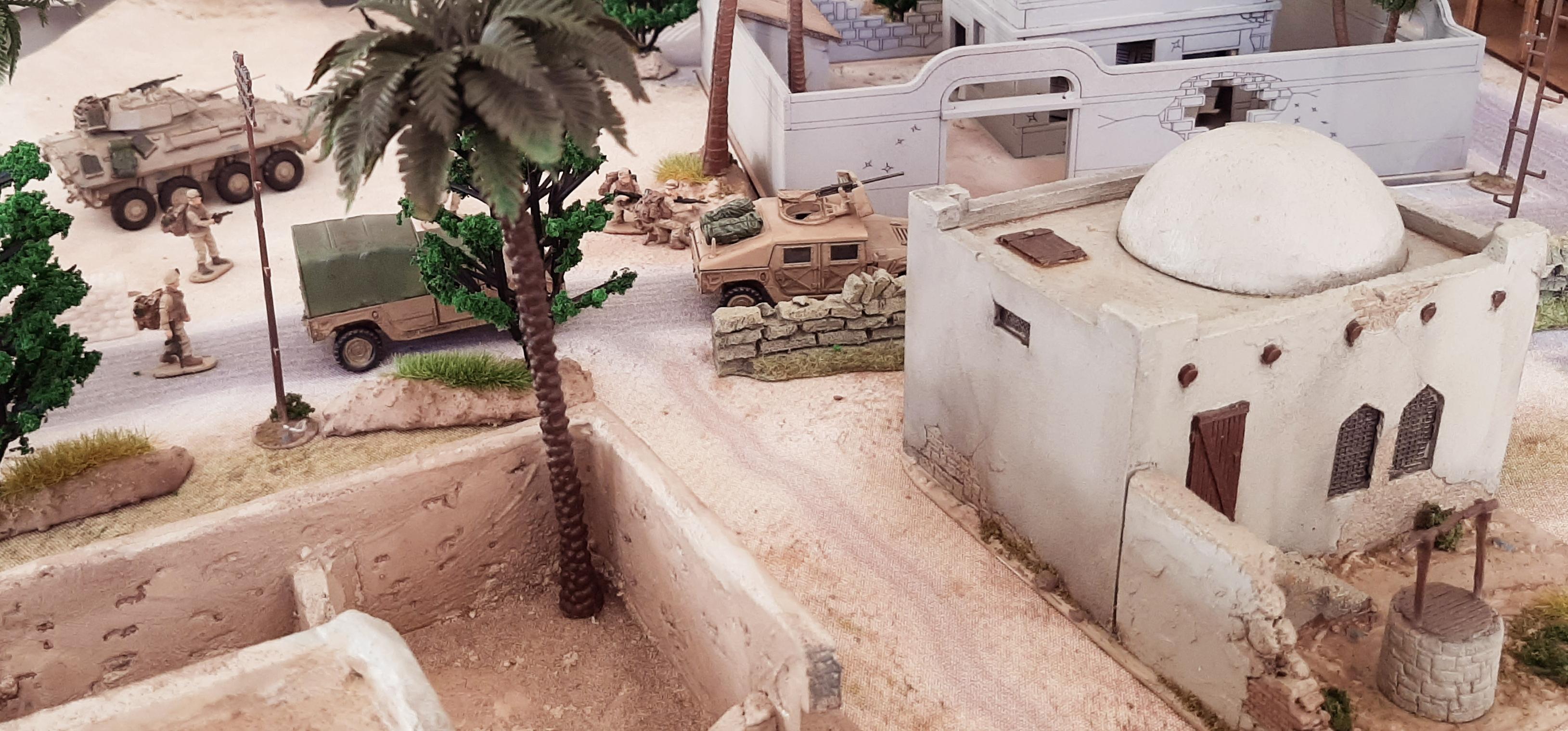 Diorama/Wargame Afghanistan 1/72 UA0IMe4