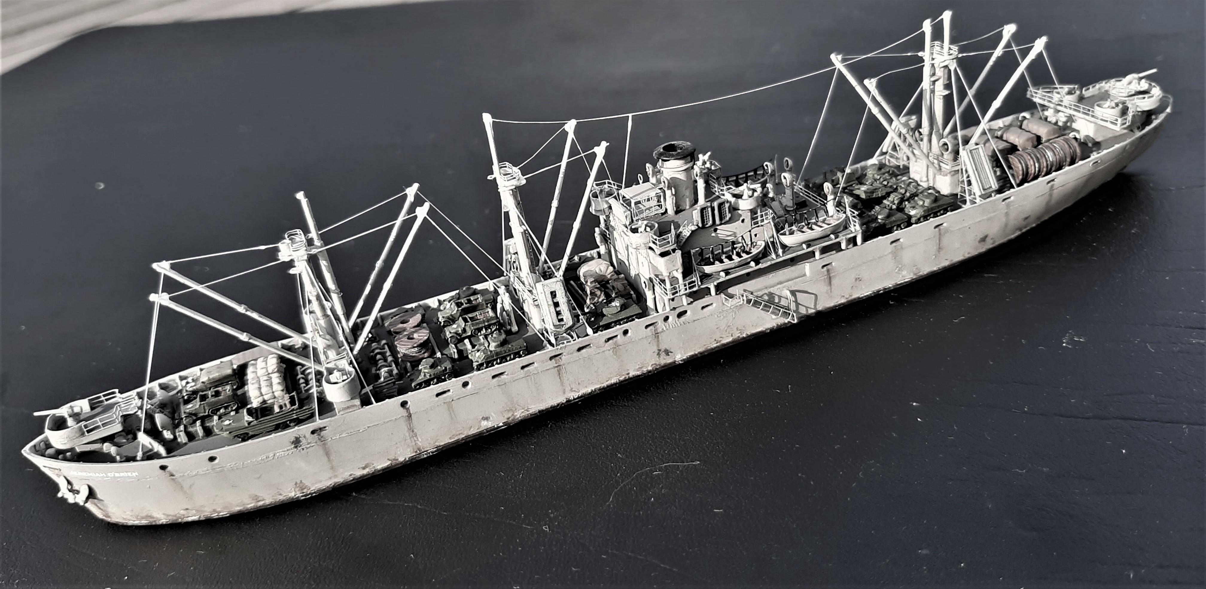 Liberty ship Jeremiah O'Brien 1/700 Trumpeter  VJVLNP