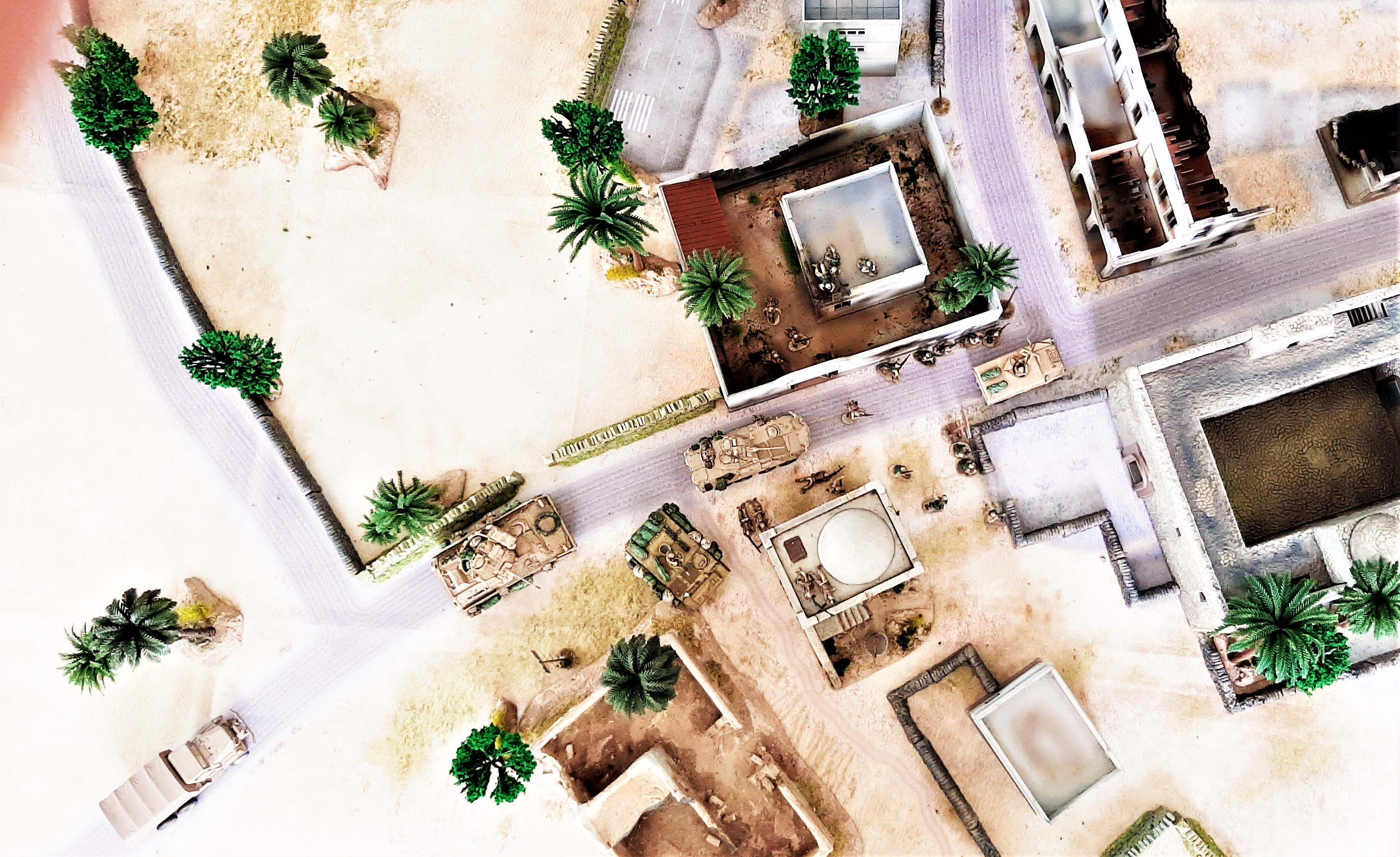 Diorama/Wargame Afghanistan 1/72 Vd6543Pfo