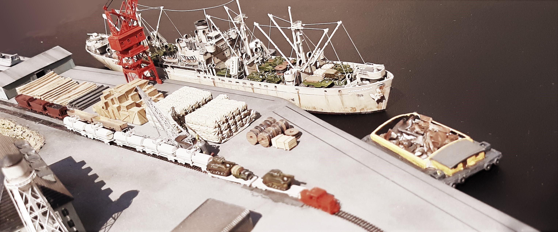 Liberty ship Jeremiah O'Brien 1/700 Trumpeter  JvfDl