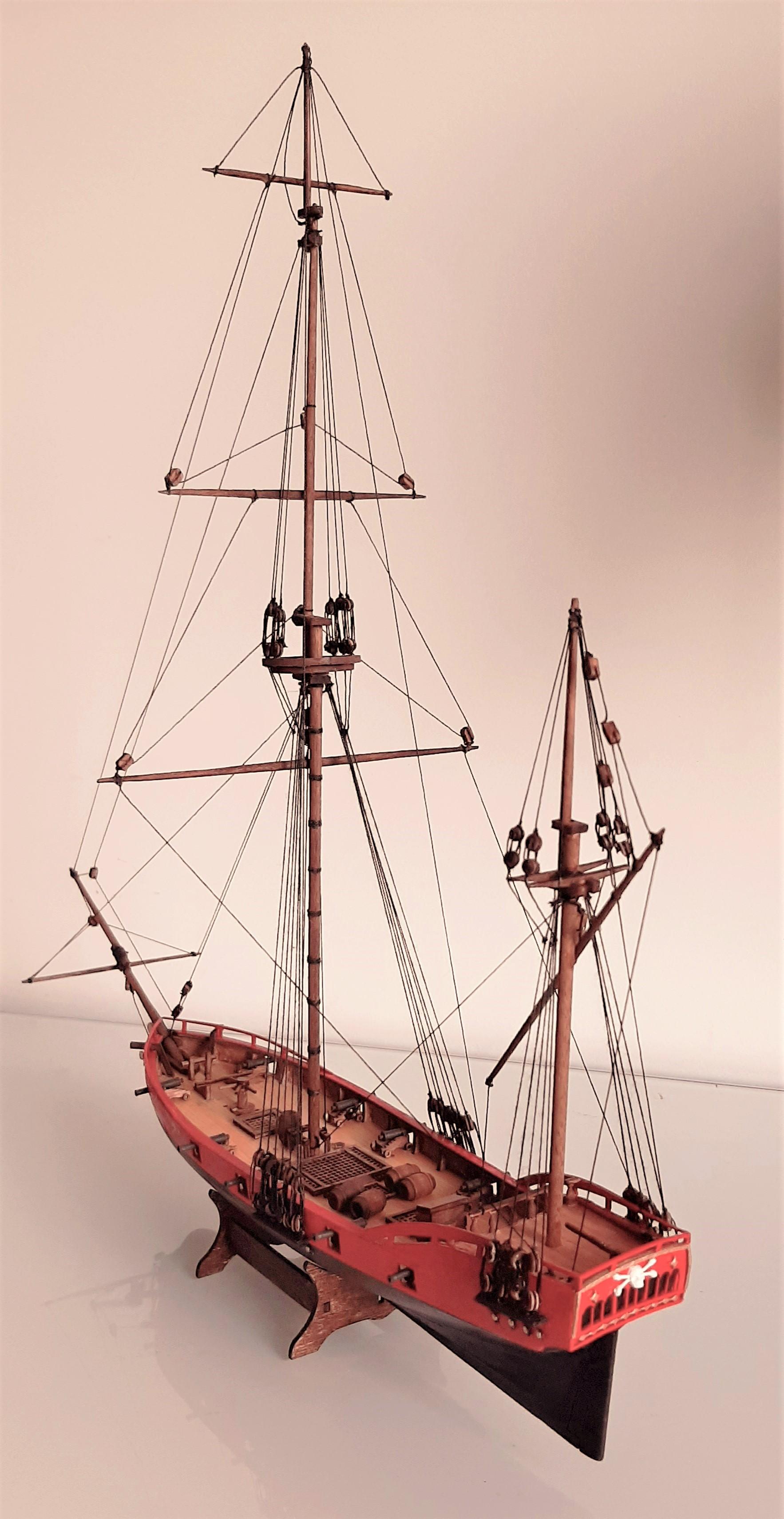 Galiote du pirate Rackham Le Rouge 1/100 (Tintin - le secret de la licorne) 6mOVbYP2y