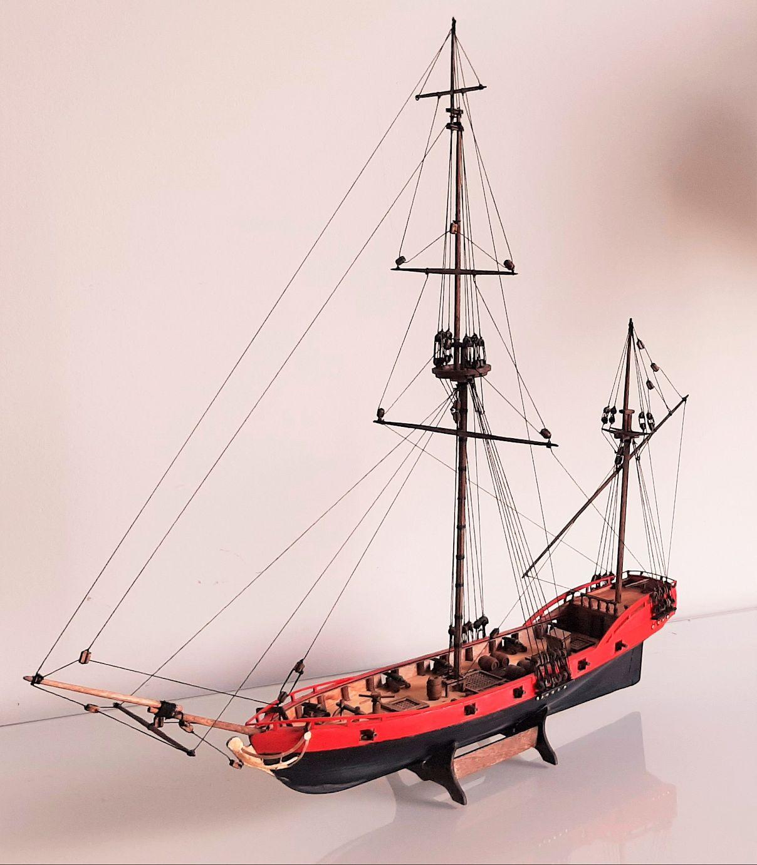 Galiote du pirate Rackham Le Rouge 1/100 (Tintin - le secret de la licorne) AsXADR6UM