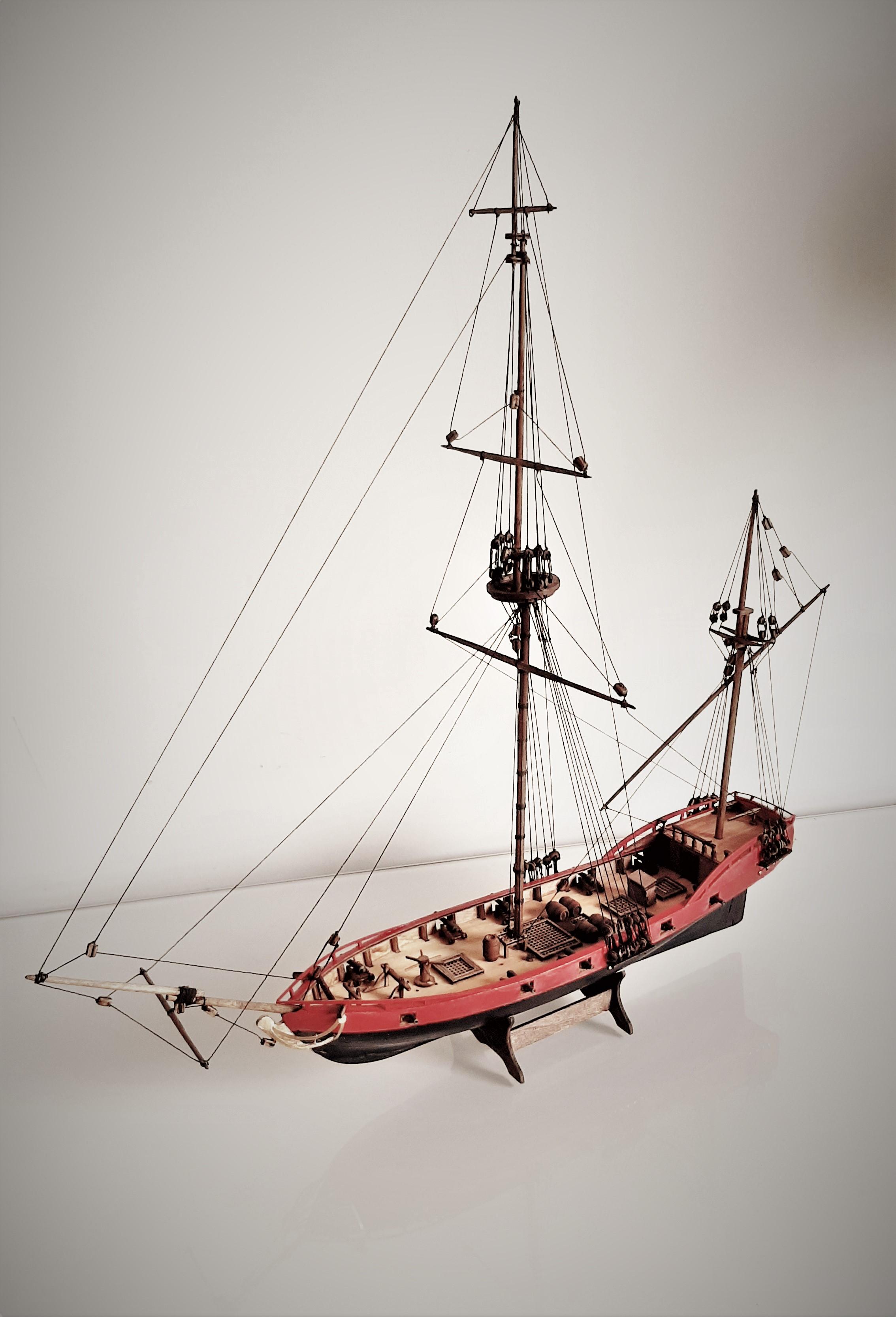 Galiote du pirate Rackham Le Rouge 1/100 (Tintin - le secret de la licorne) HBfV196ye