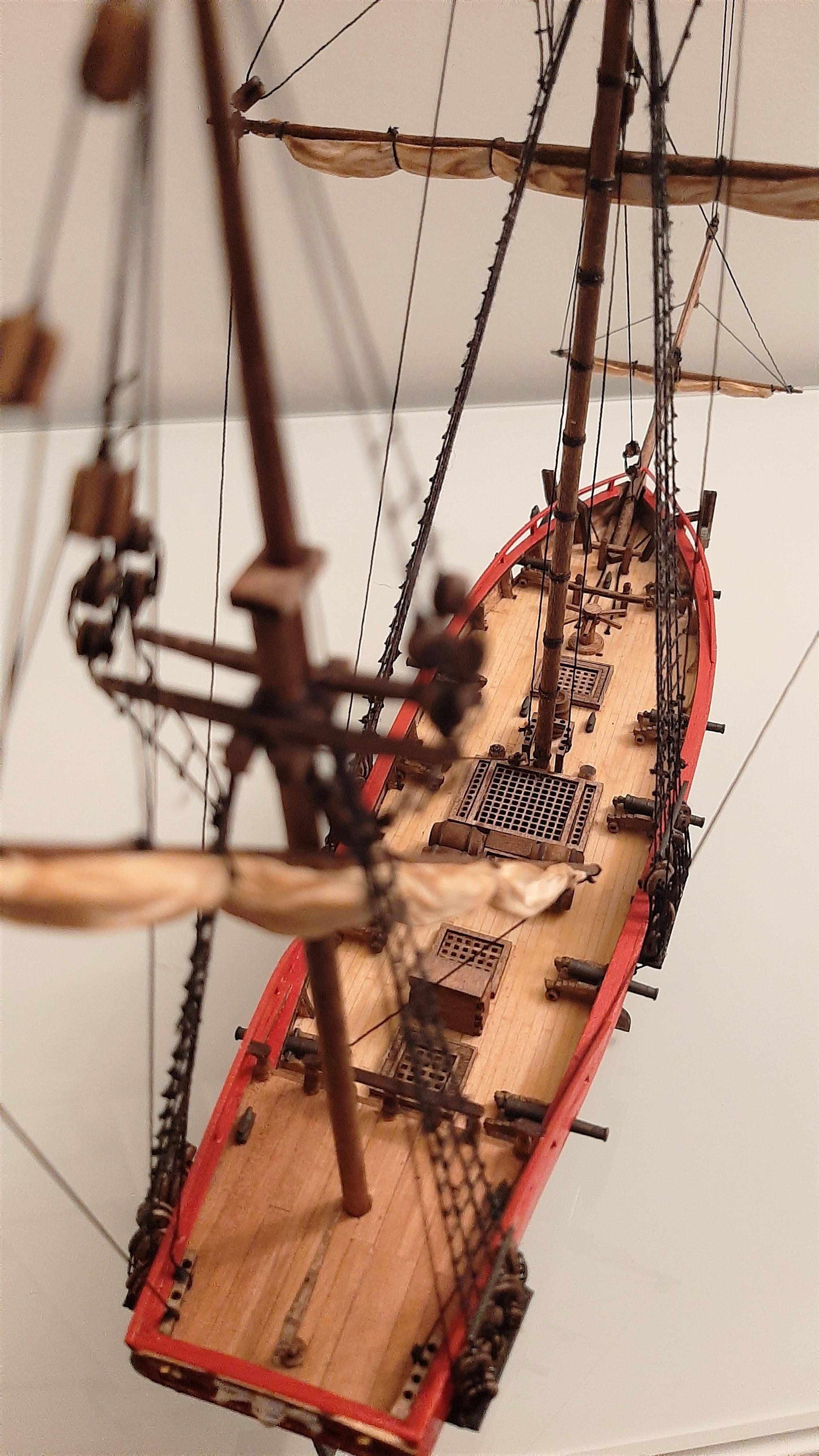 Galiote du pirate Rackham Le Rouge 1/100 (Tintin - le secret de la licorne) 0sZLkbe