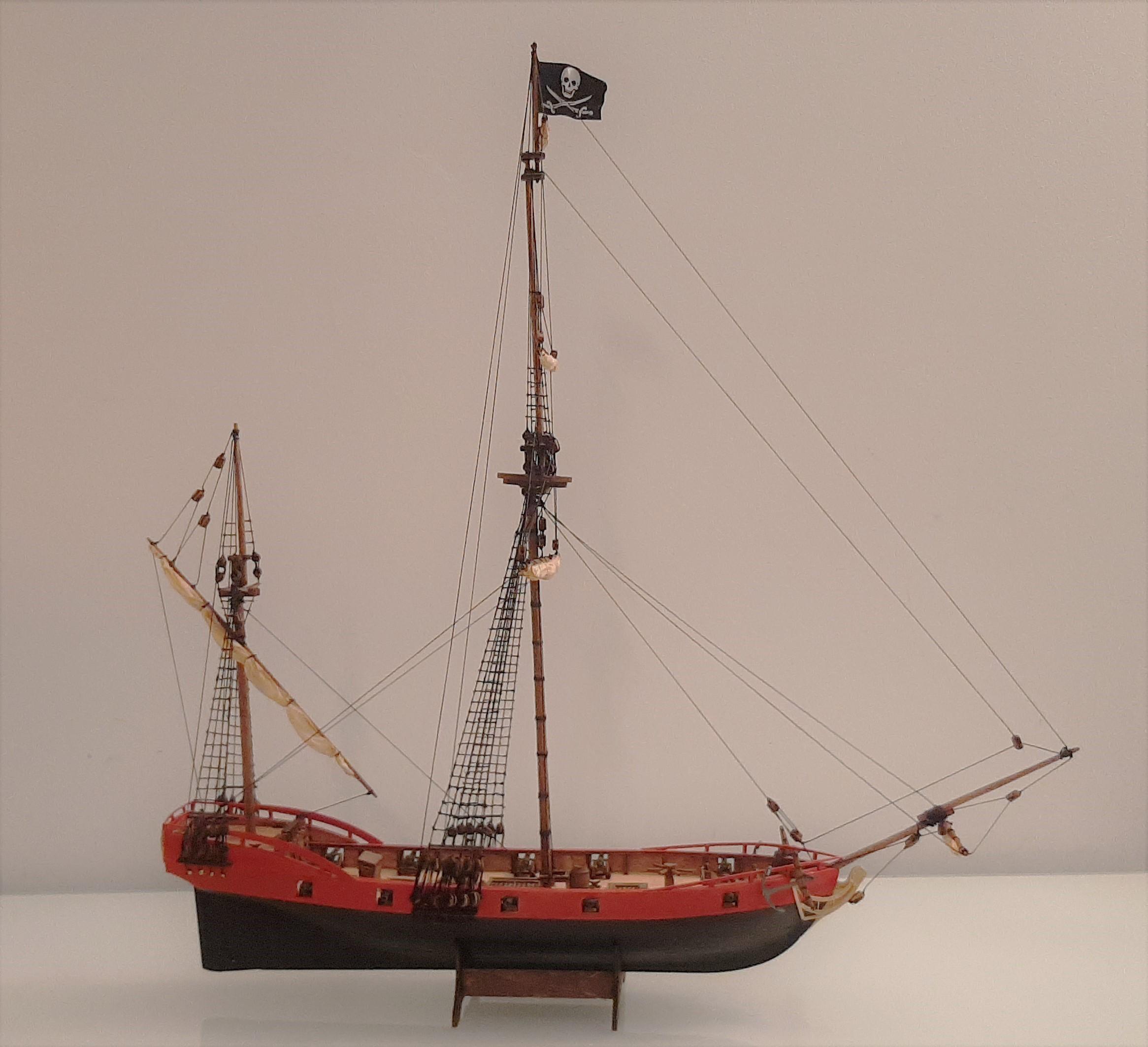 Galiote du pirate Rackham Le Rouge 1/100 (Tintin - le secret de la licorne) 4DazQ3TEs