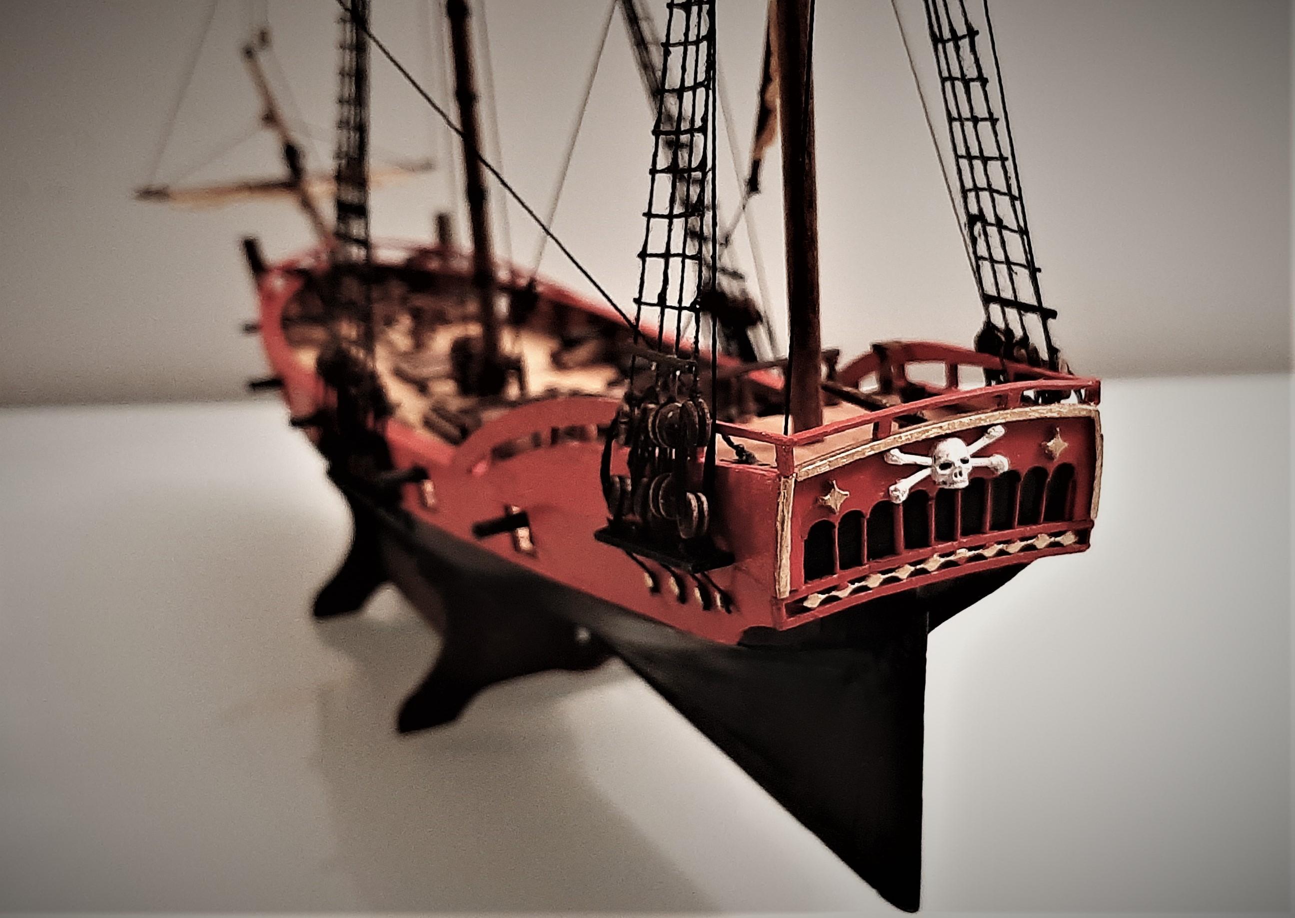 Galiote du pirate Rackham Le Rouge 1/100 (Tintin - le secret de la licorne) 5GkKC