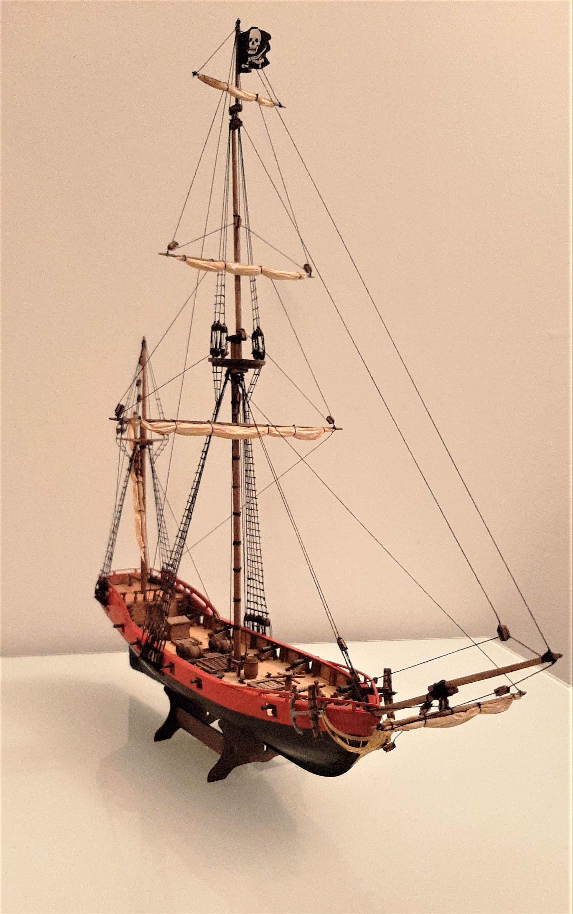 Galiote du pirate Rackham Le Rouge 1/100 (Tintin - le secret de la licorne) DLvlMCT