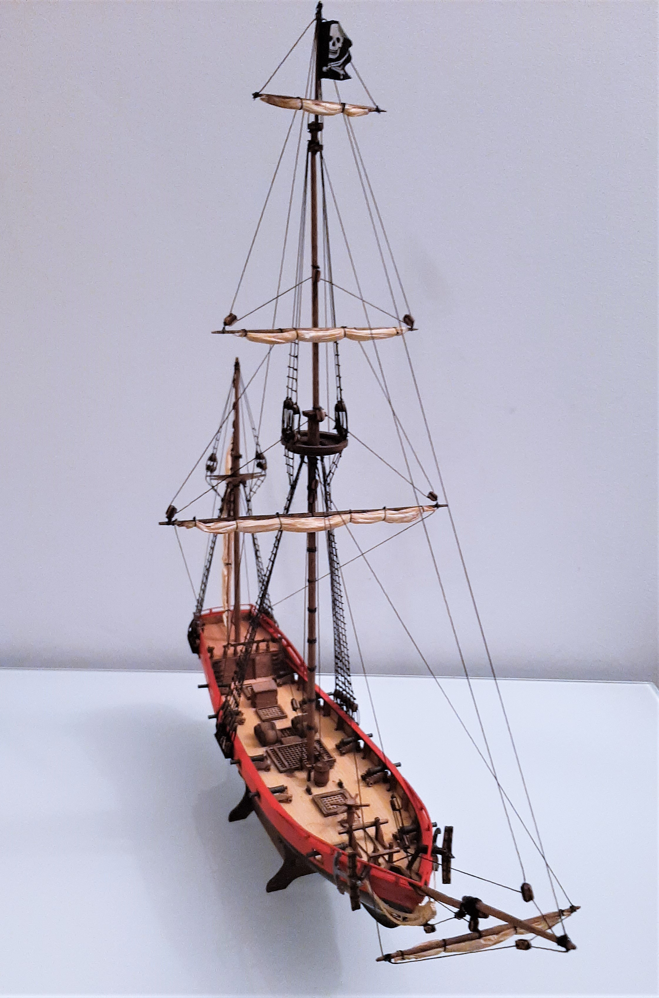 Galiote du pirate Rackham Le Rouge 1/100 (Tintin - le secret de la licorne) N0HA8s3i
