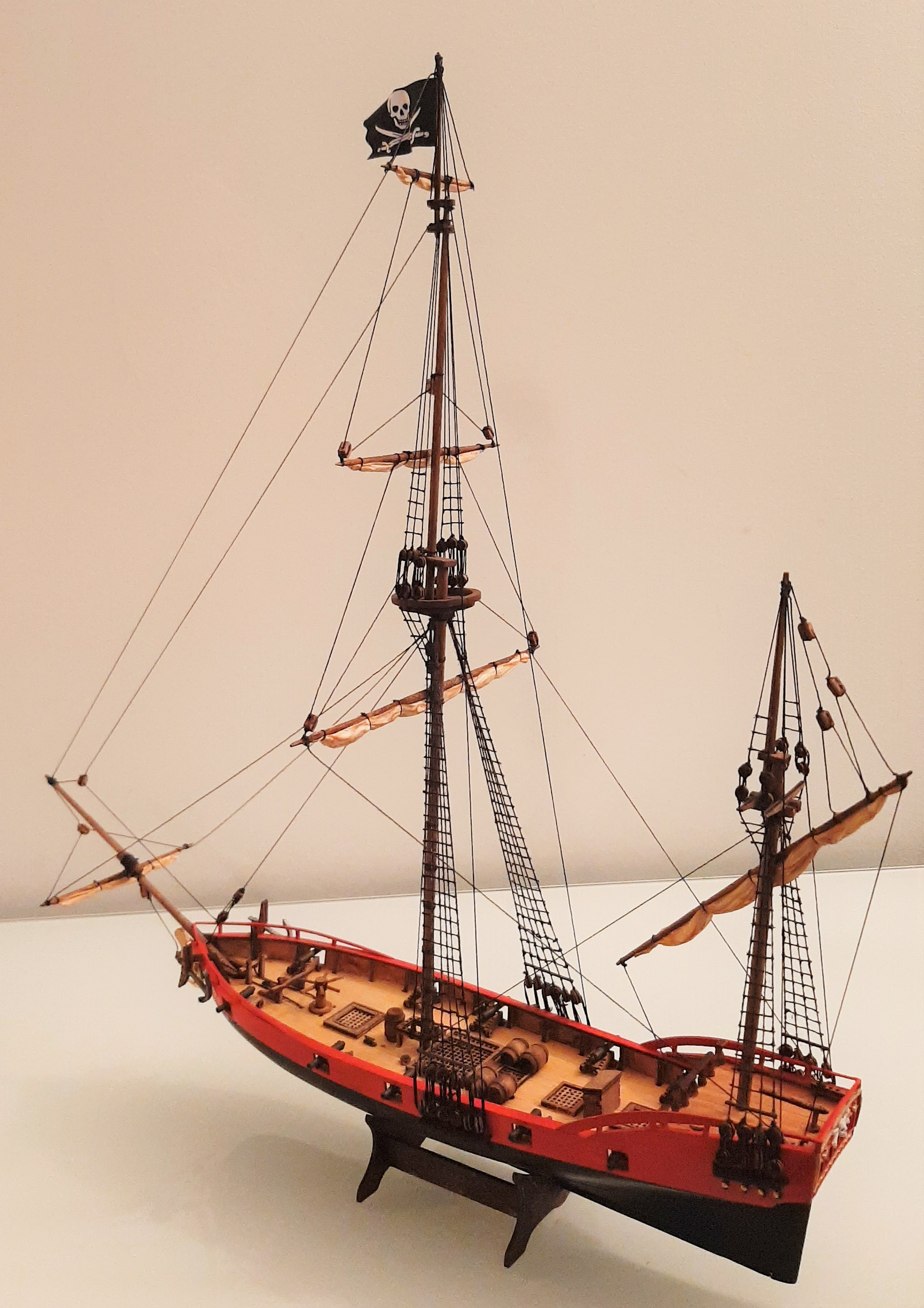 Galiote du pirate Rackham Le Rouge 1/100 (Tintin - le secret de la licorne) RIEWgeLj