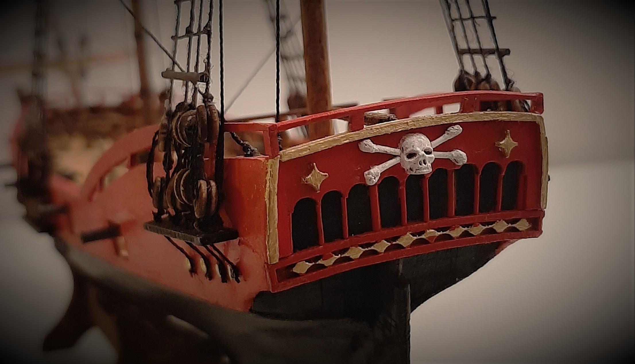 Galiote du pirate Rackham Le Rouge 1/100 (Tintin - le secret de la licorne) SehQWBsmz