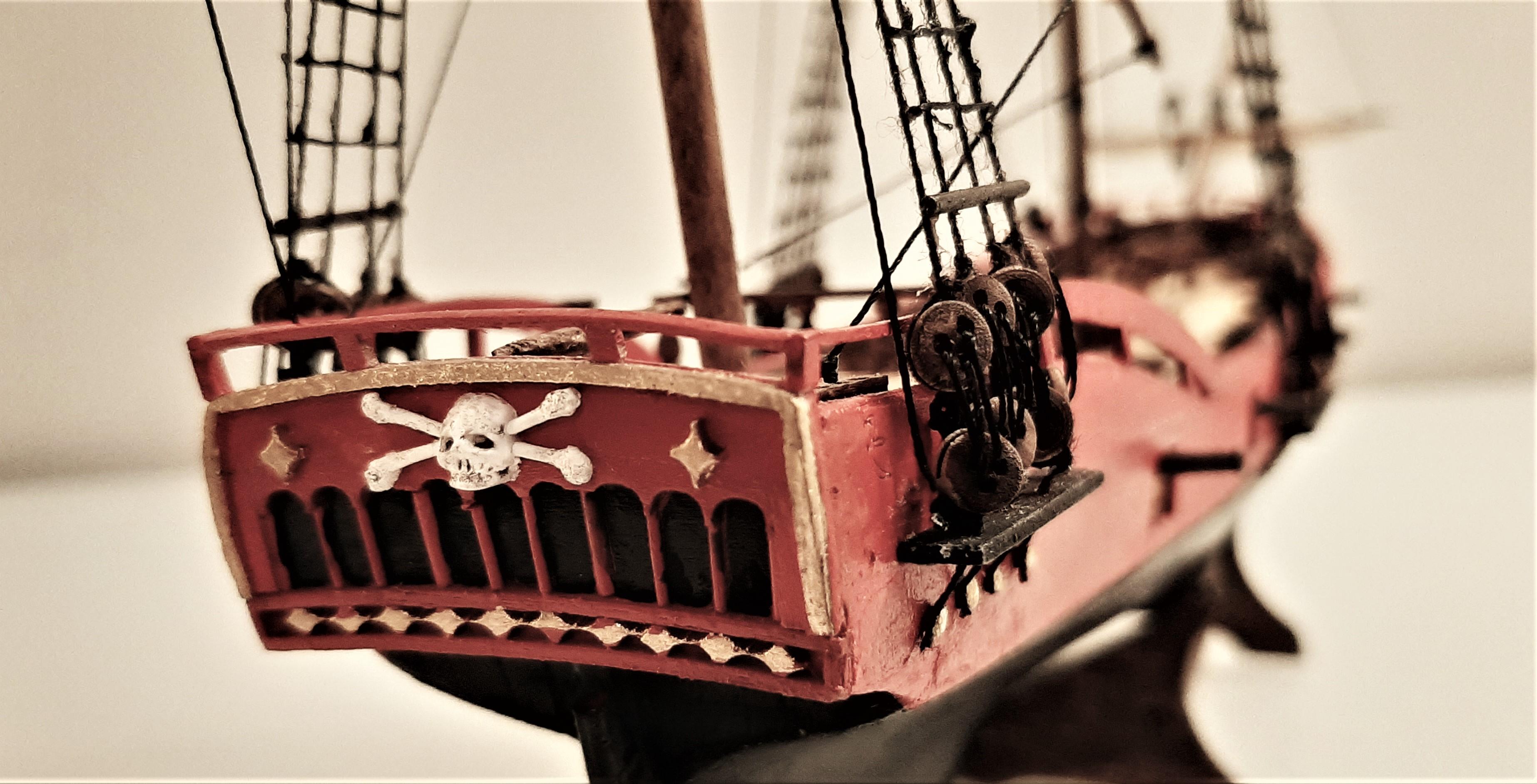Galiote du pirate Rackham Le Rouge 1/100 (Tintin - le secret de la licorne) Ube5zxH