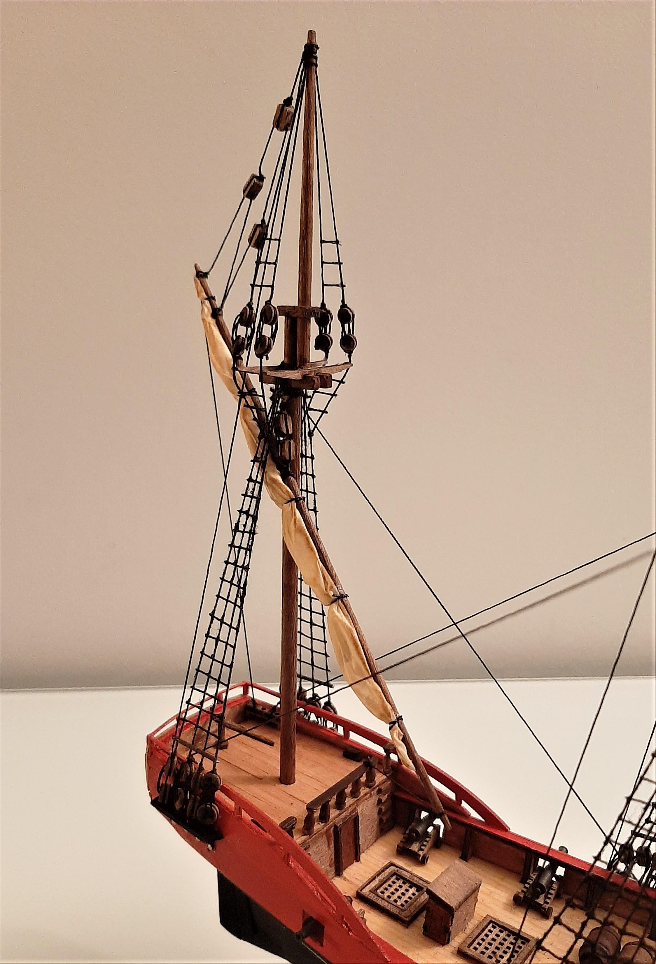 Galiote du pirate Rackham Le Rouge 1/100 (Tintin - le secret de la licorne) WdCQ0