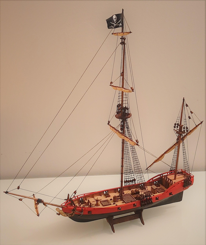 Galiote du pirate Rackham Le Rouge 1/100 (Tintin - le secret de la licorne) ApMQL9