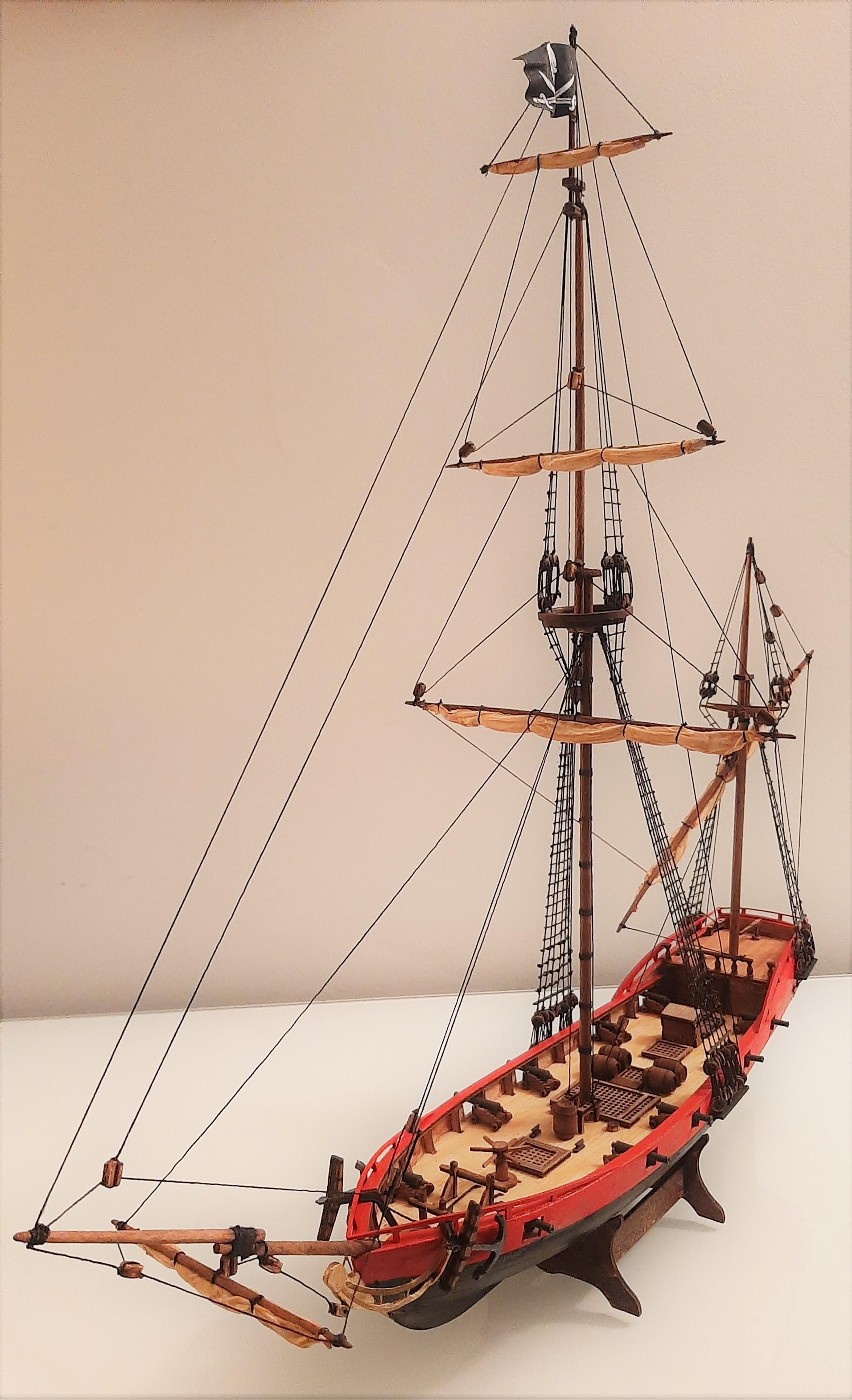 Galiote du pirate Rackham Le Rouge 1/100 (Tintin - le secret de la licorne) CNuhW