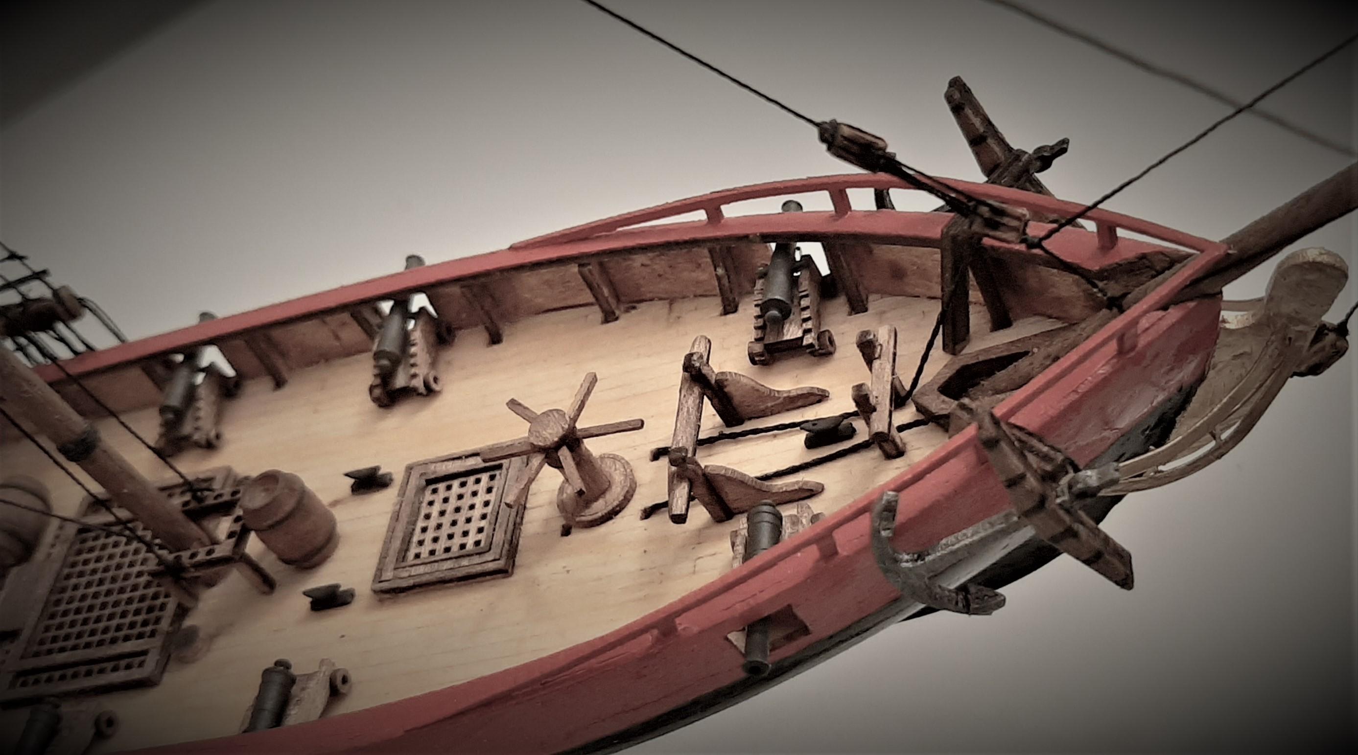 Galiote du pirate Rackham Le Rouge 1/100 (Tintin - le secret de la licorne) Mkny2SVTp5