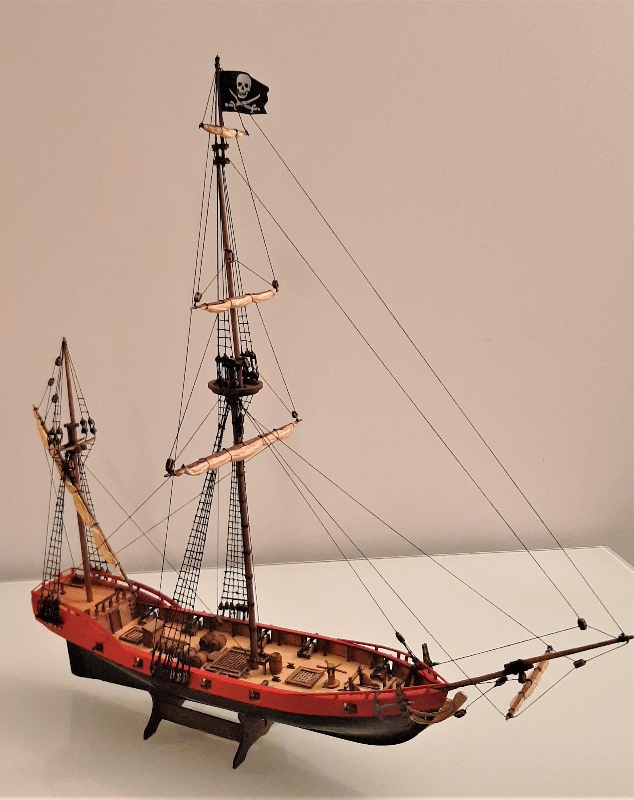 Galiote du pirate Rackham Le Rouge 1/100 (Tintin - le secret de la licorne) VFfwNEB