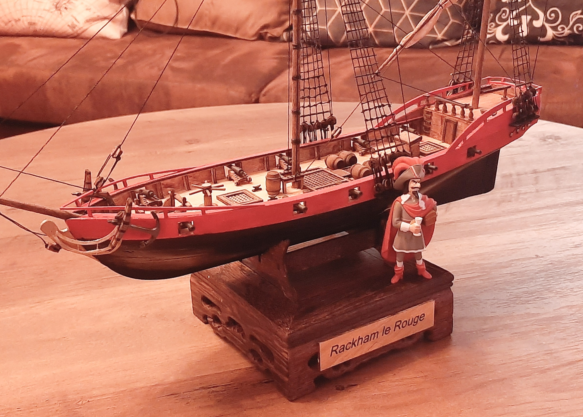 Galiote du pirate Rackham Le Rouge 1/100 (Tintin - le secret de la licorne) Mwq61