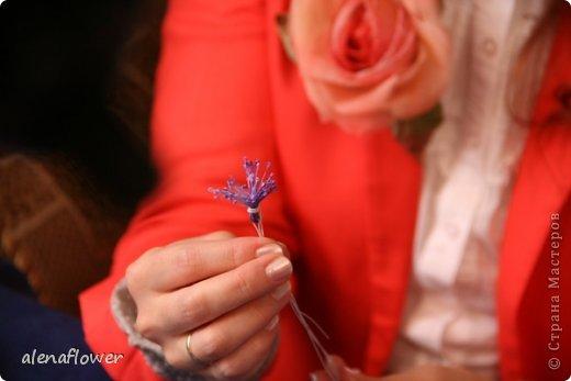 """Мастер класс. Цветы из шелка в технике somebana с элементами техники """"Живой цветок"""". Шиповник. 13_24_15"""