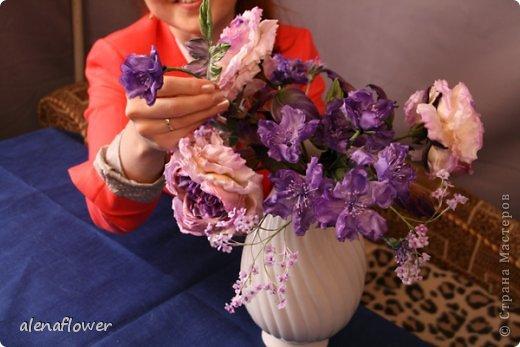 """Мастер класс. Цветы из шелка в технике somebana с элементами техники """"Живой цветок"""". Шиповник. Mk_big_0"""