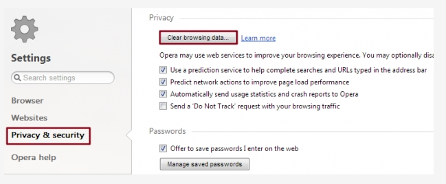 How to clear your browser cache? 0991885a