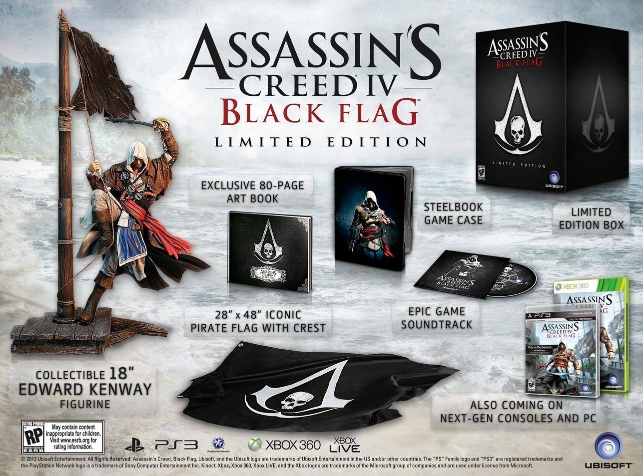 """Edição limitada de """"Assassin's Creed IV"""" chega ao Brasil por R$ 449 Uol-jogos-1380750922544_1287x954"""