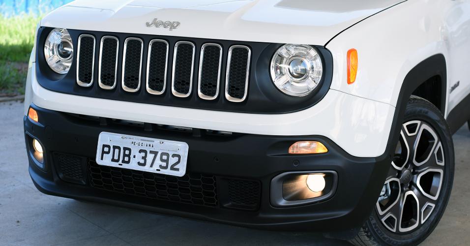 Parachoque dianteiro raspa muito fácil - Versão 1.8 Flex Jeep-renegade-longitude-1427285933543_956x500