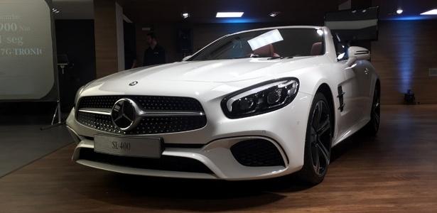 Mercedes lança SLC e SL 2017 no Brasil em julho; veja os preços Feito-sobre-a-base-do-classe-s-sl-e-requintado-e-tecnologico-mas-custa-caro-1467240641715_615x300