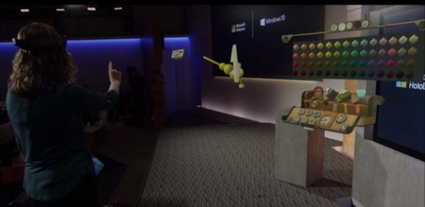 Microsoft apresenta óculos HoloLens para criar hologramas Software-holo-project-permitira-criar-hologramas-usando-os-oculos-holo-lens-1421867535072_615x300