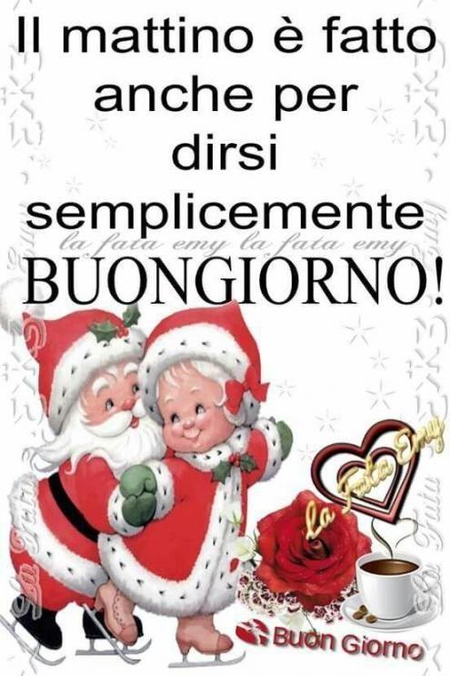 Saluti di Dicembre - Pagina 3 Buongiorno-di-natale-con-babbo-natale-495x743