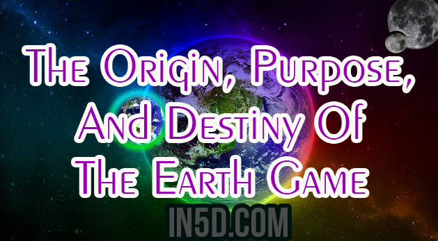 The Origin, Purpose, And Destiny Of The Earth Game by Jeff Street  Fgnjwj775yjwy