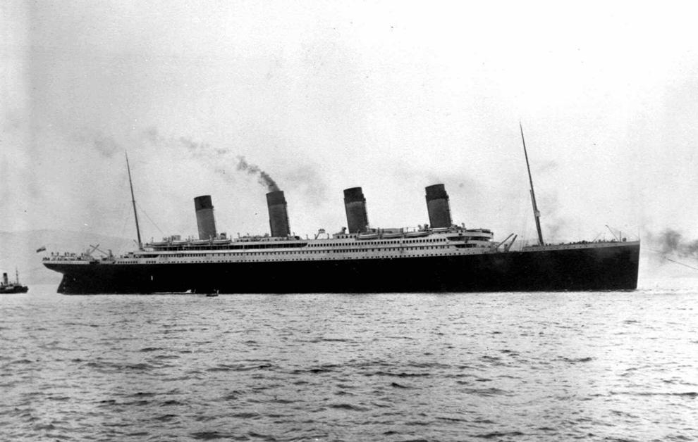 Il y a 100 ans, le naufrage du paquebot Titanic Bp1