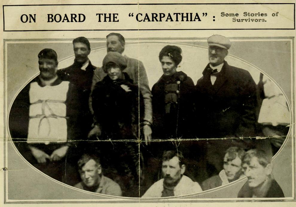 Il y a 100 ans, le naufrage du paquebot Titanic Bp20