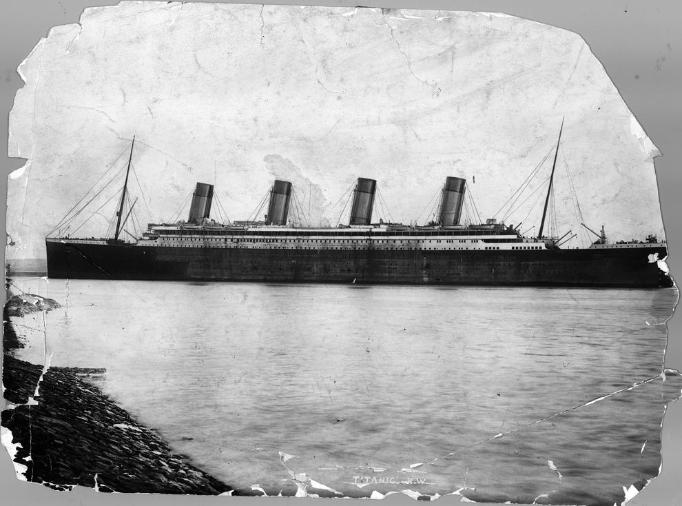 Il y a 100 ans, le naufrage du paquebot Titanic Bp21