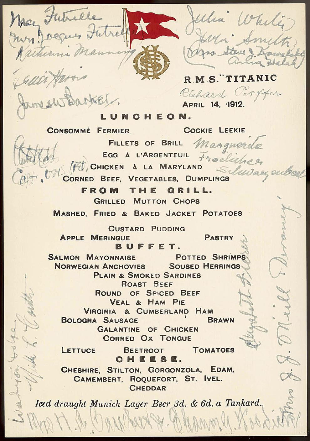 Il y a 100 ans, le naufrage du paquebot Titanic Bp24